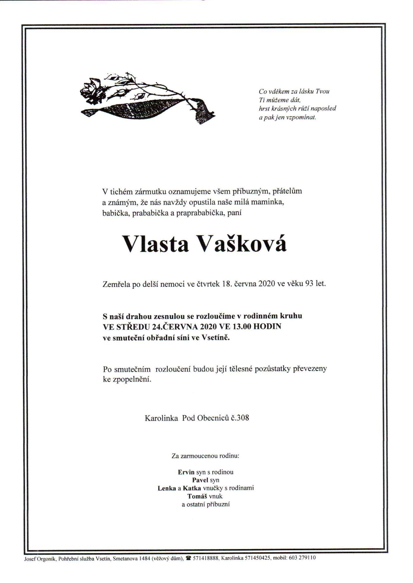 Vlasta Vašková