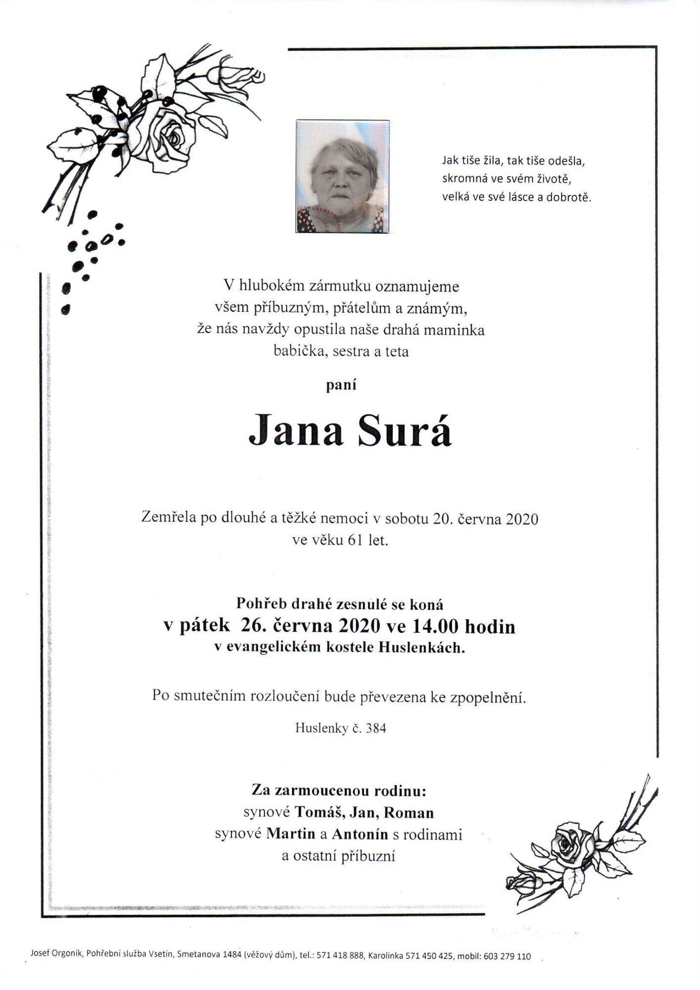 Jana Surá