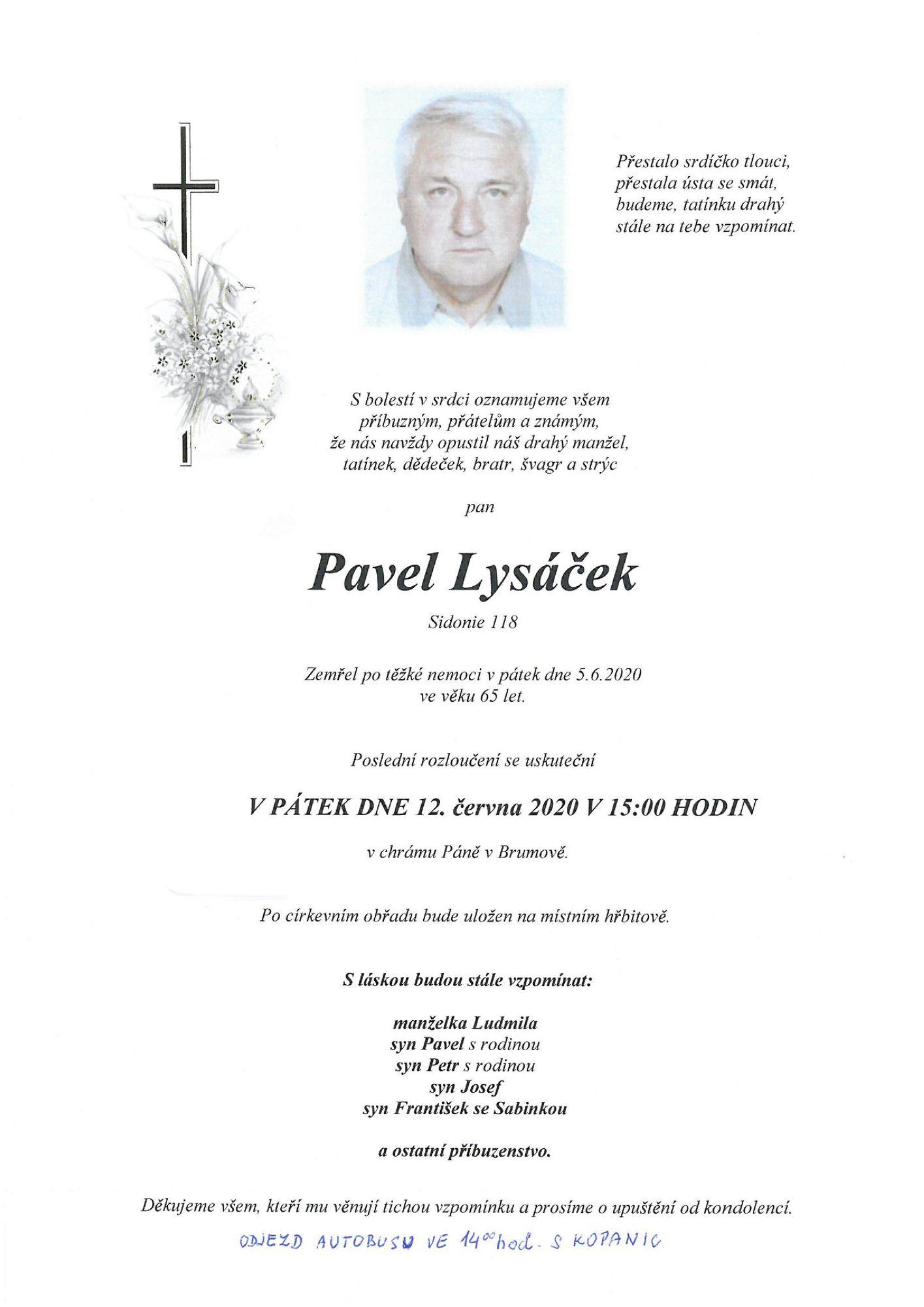 Pavel Lysáček