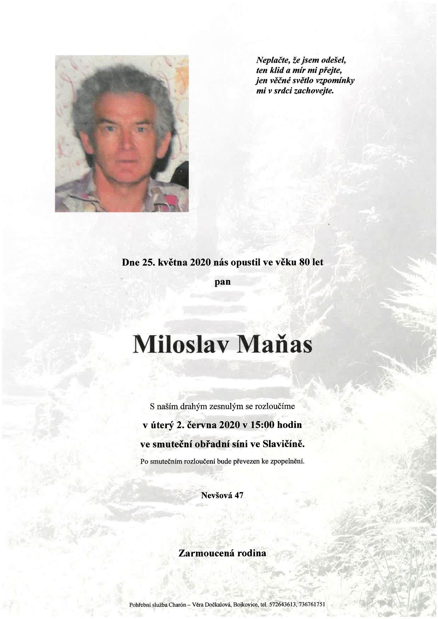 Miloslav Maňas