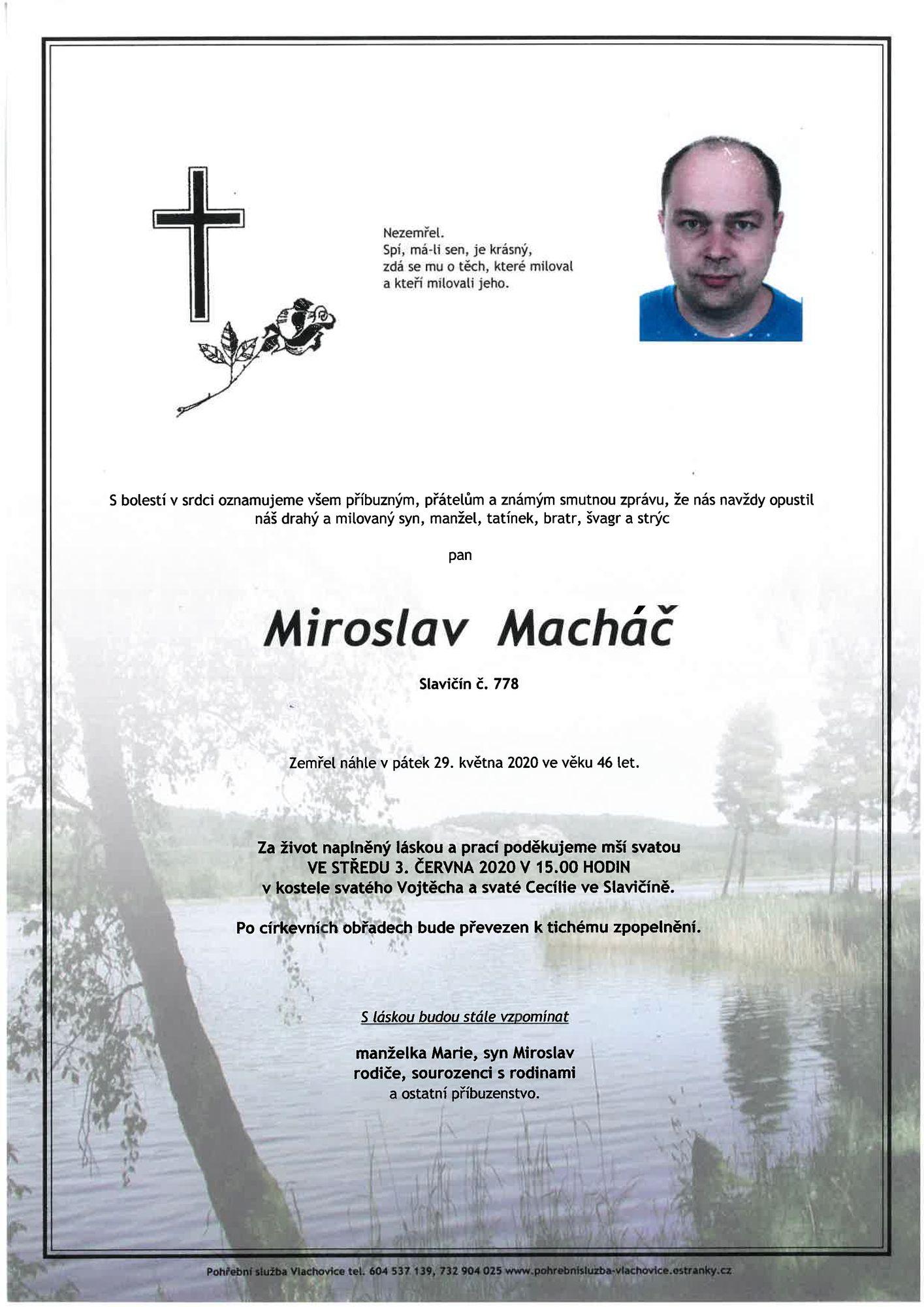 Miroslav Macháč