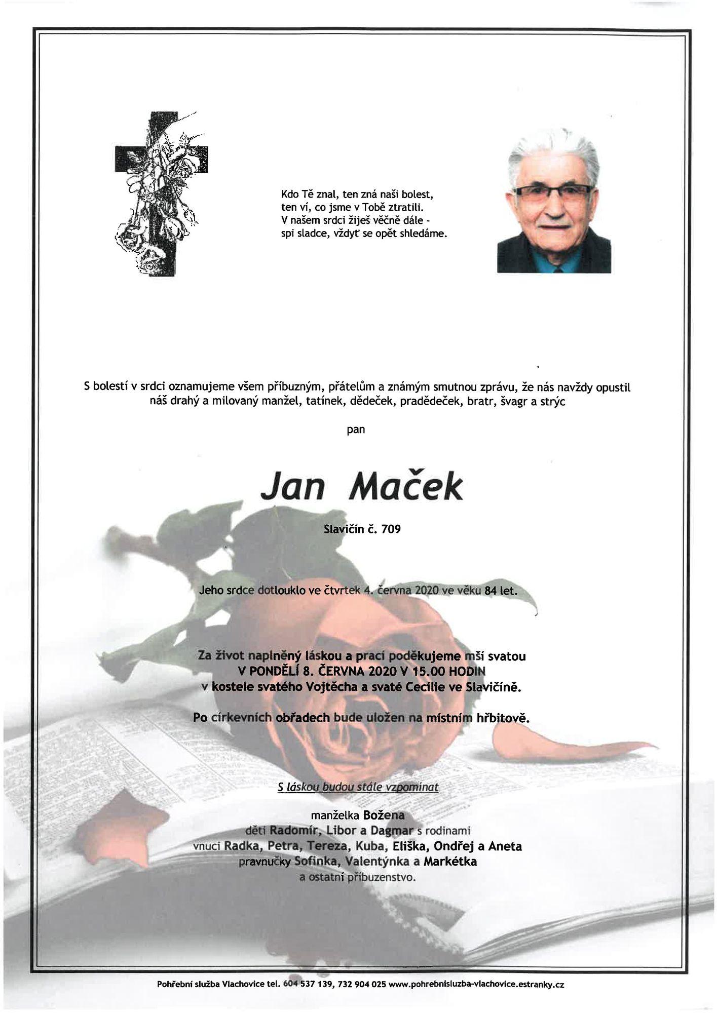 Jan Maček