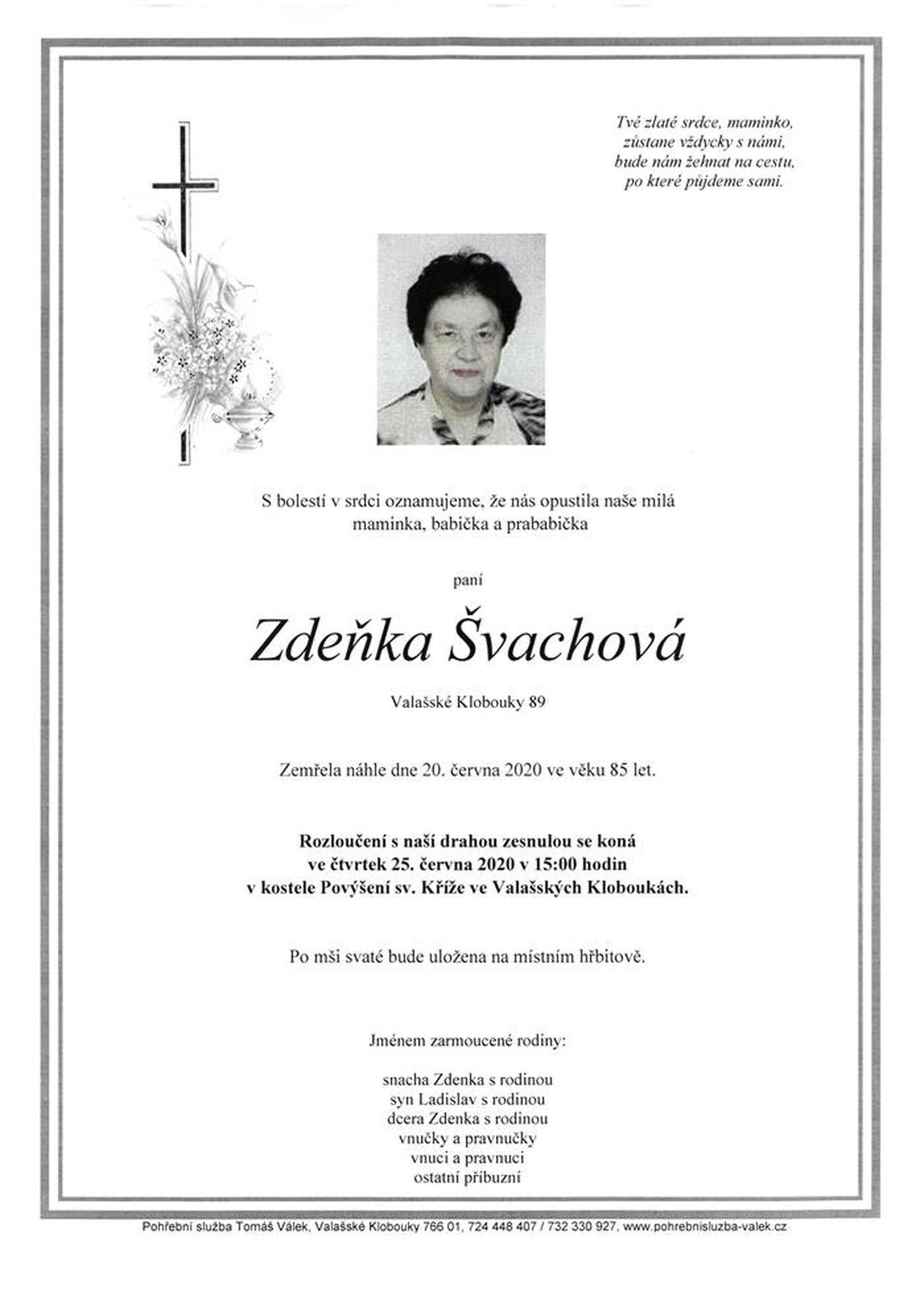 Zdeňka Švachová