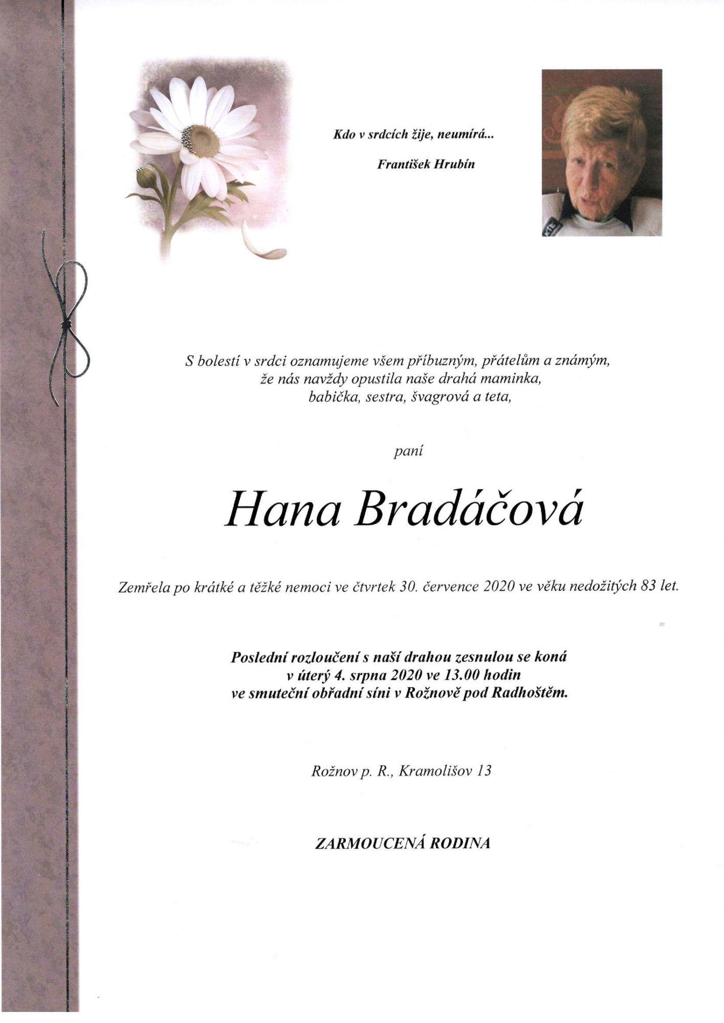 Hana Bradáčová