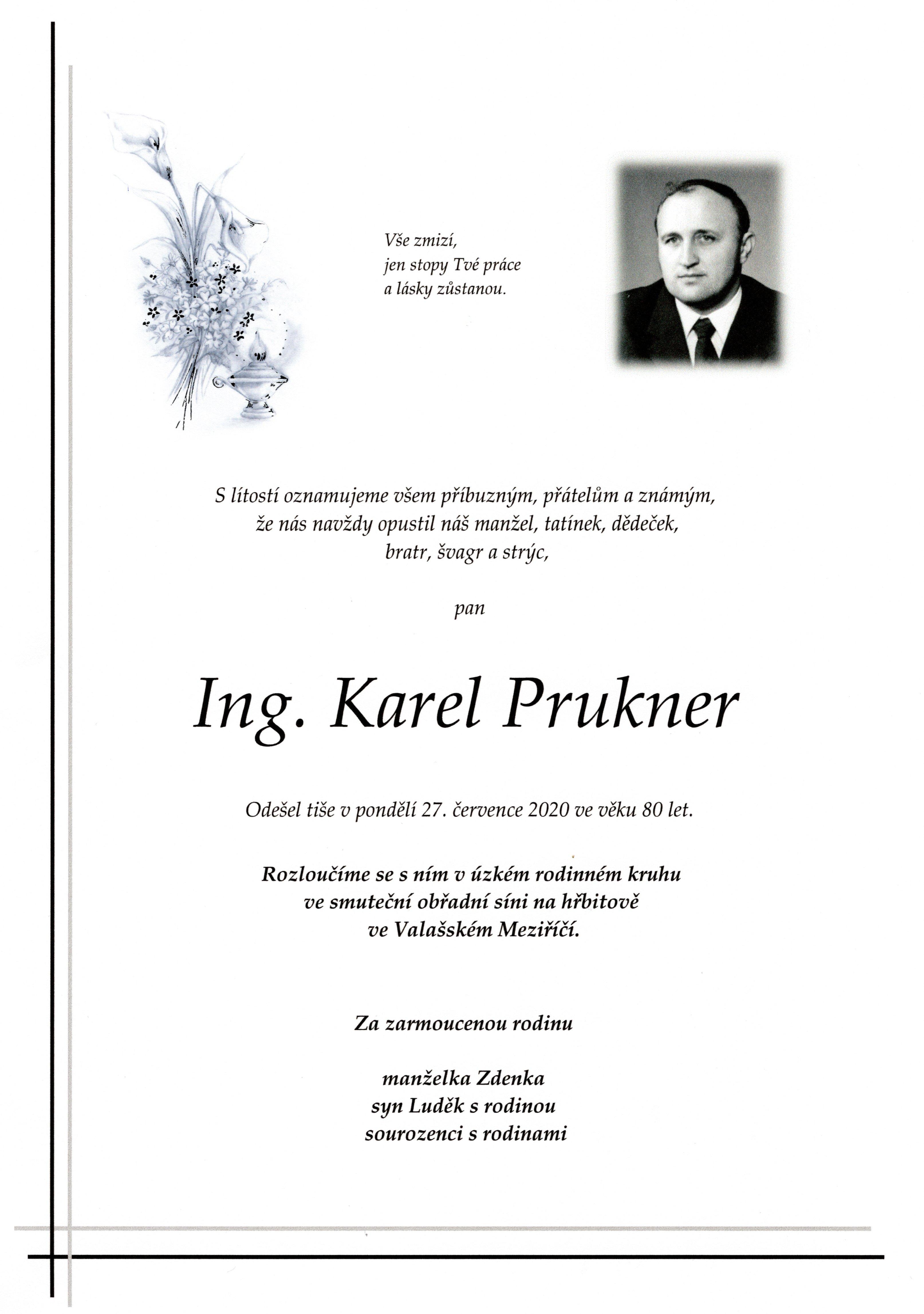 Ing. Karel Prukner