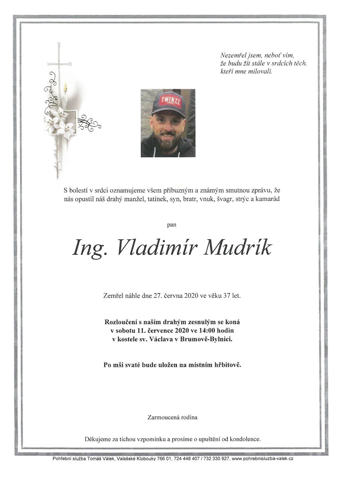 Ing. Vladimír Mudrík