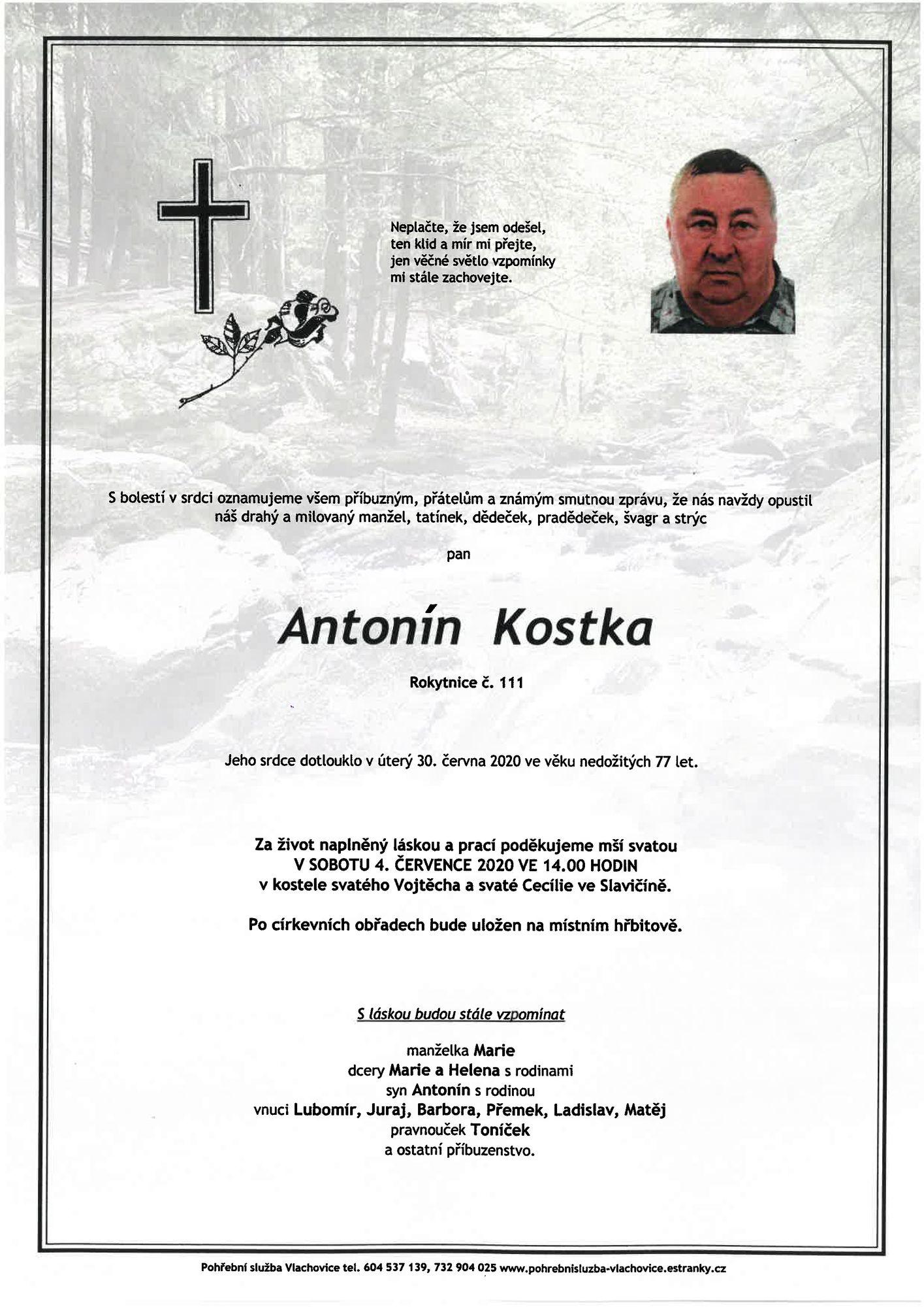 Antonín Kostka