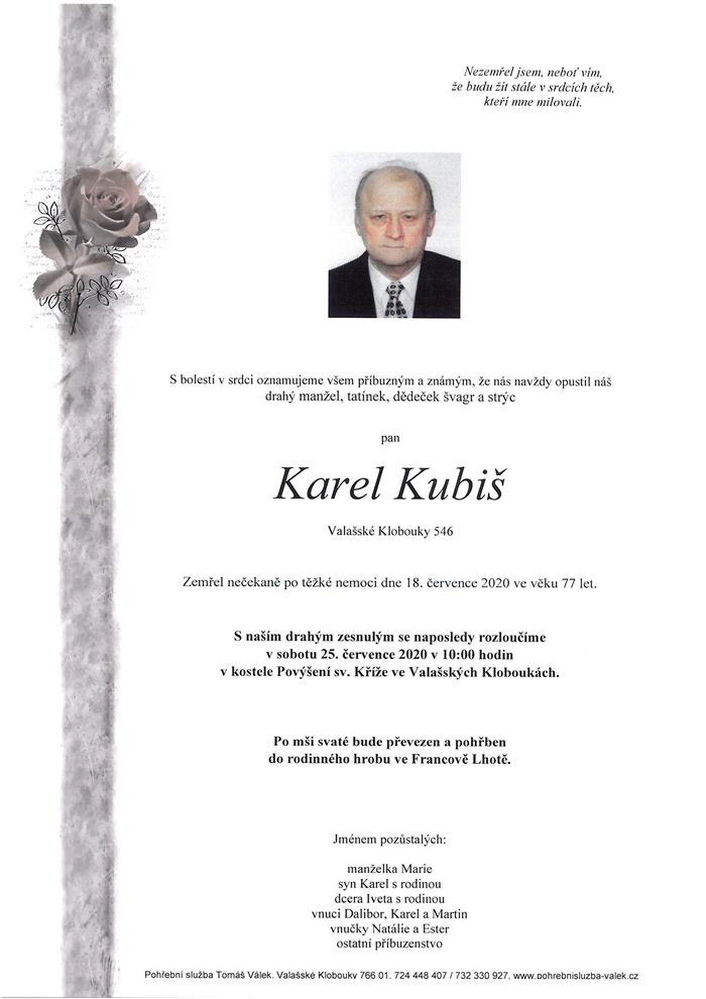 Karel Kubiš