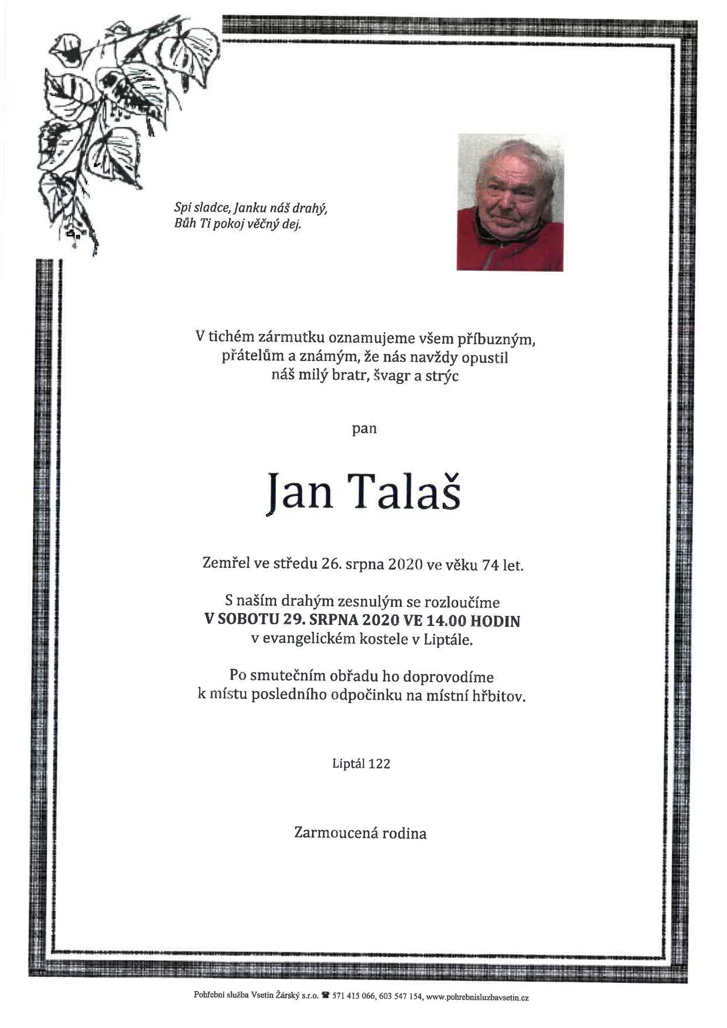 Jan Talaš