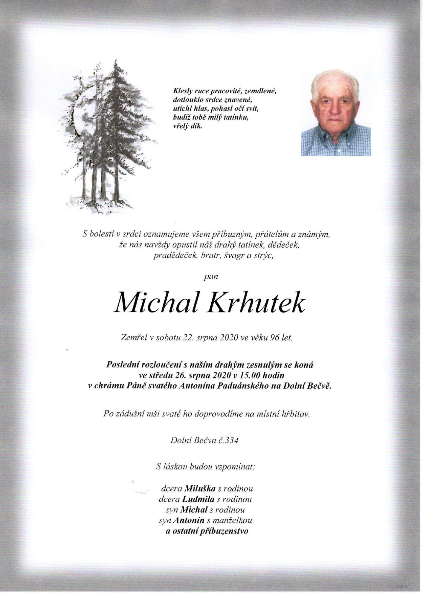 Michal Krhutek