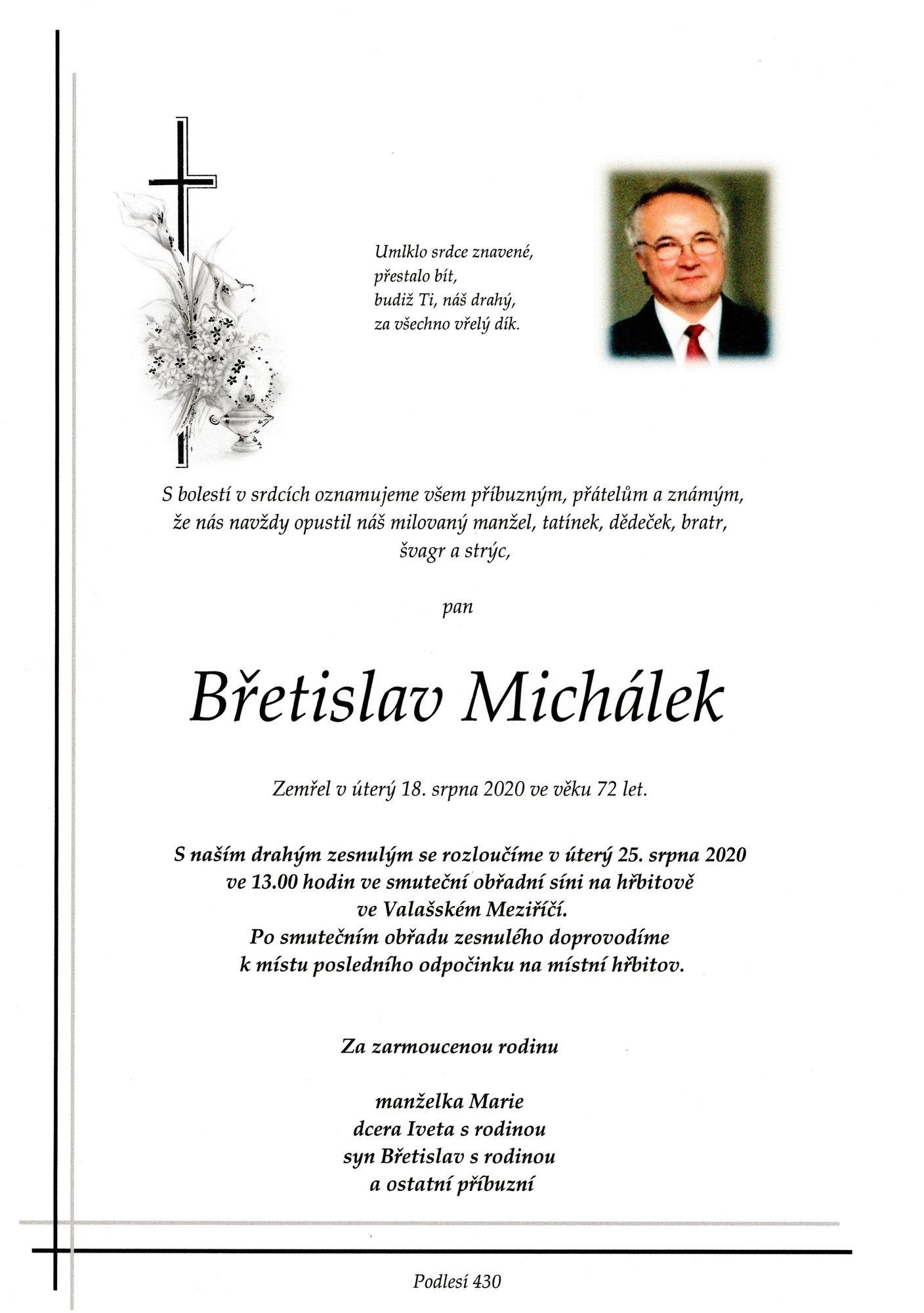 Břetislav Michálek
