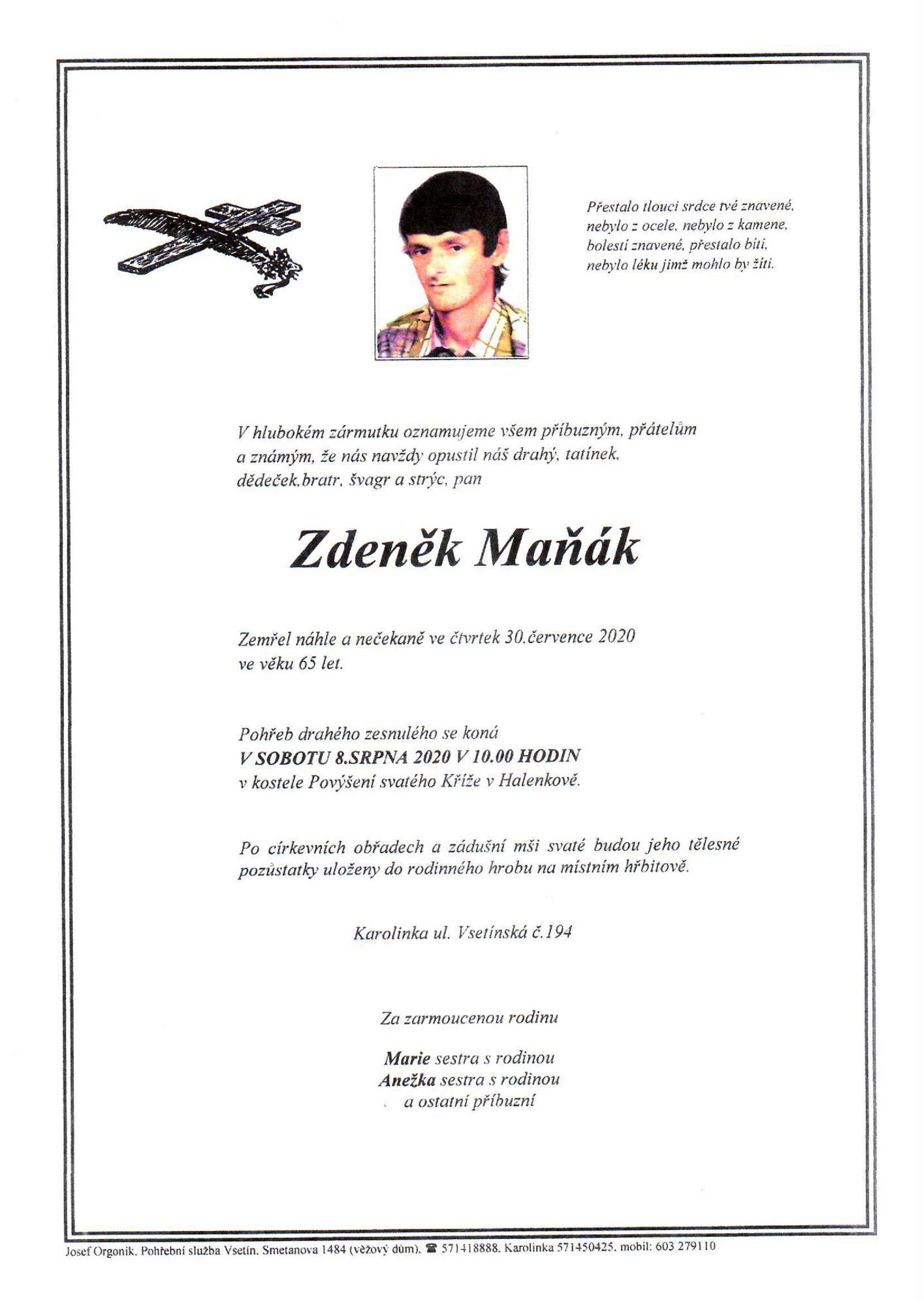 Zdeněk Maňák