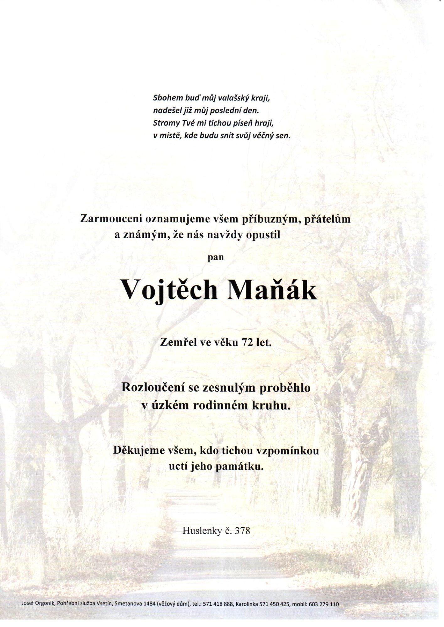 Vojtěch Maňák