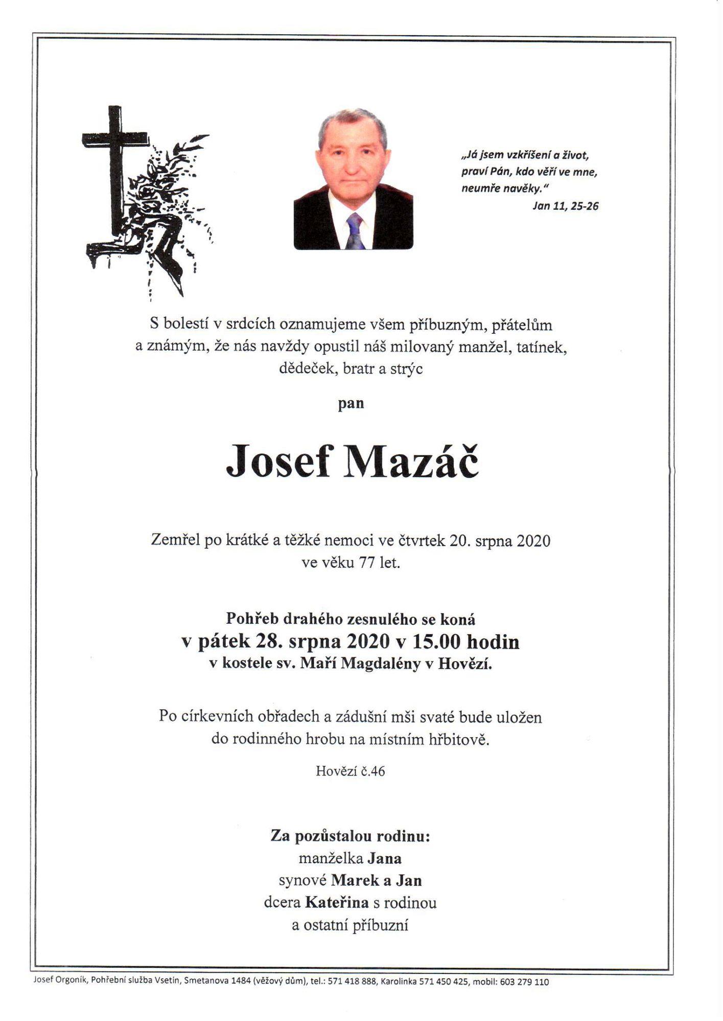 Josef Mazáč