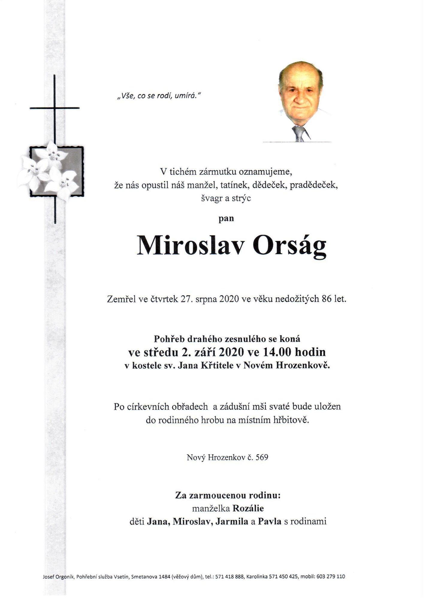 Miroslav Orság