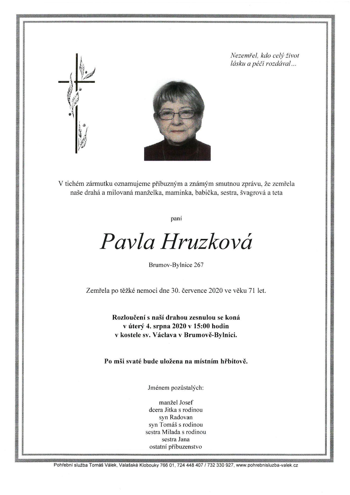 Pavla Hruzková