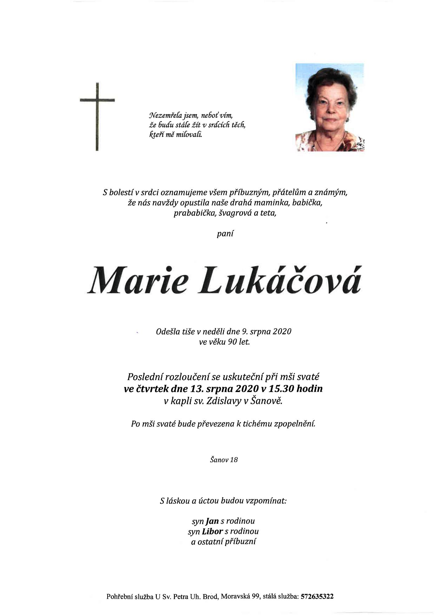 Marie Lukáčová