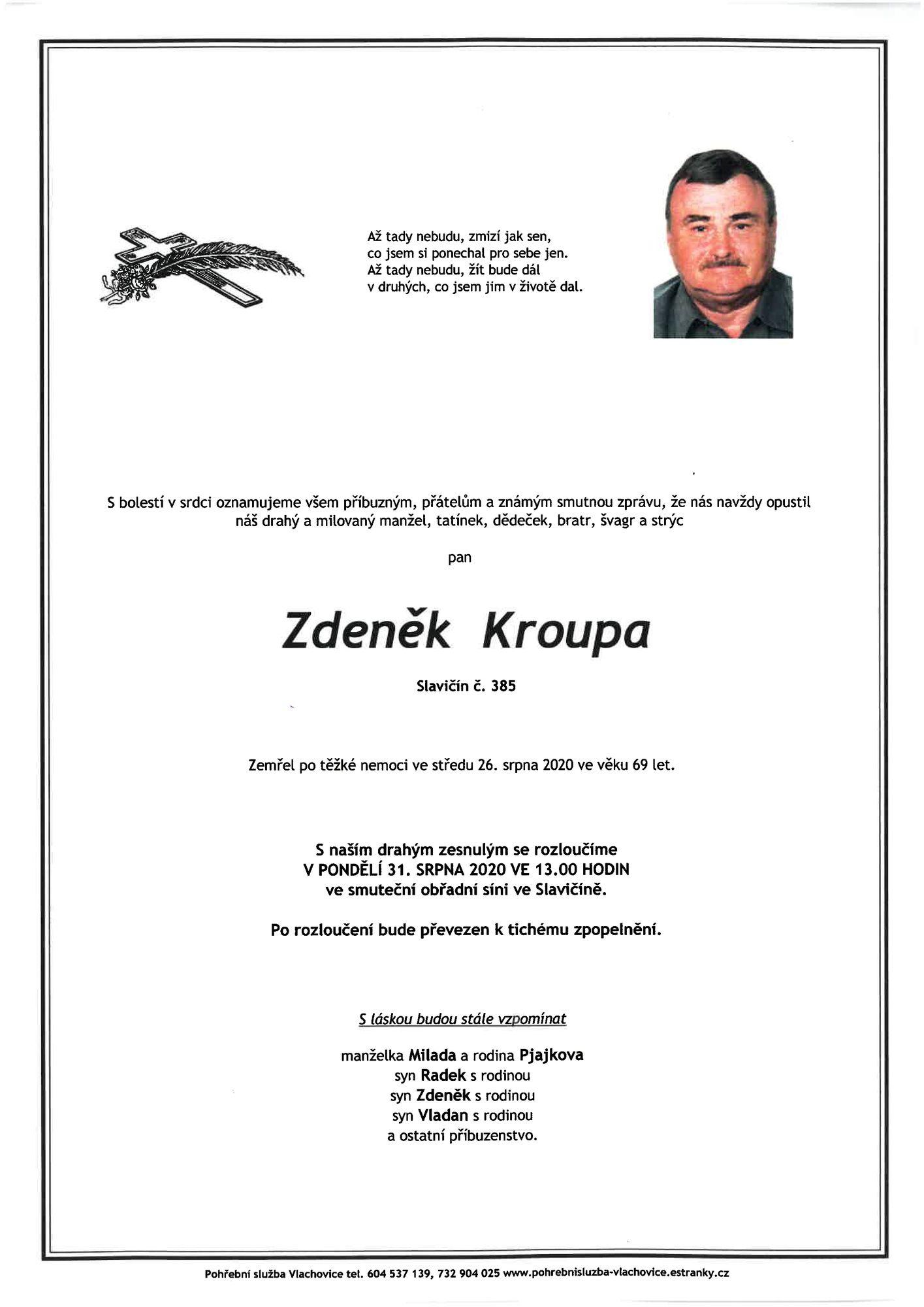 Zdeněk Kroupa