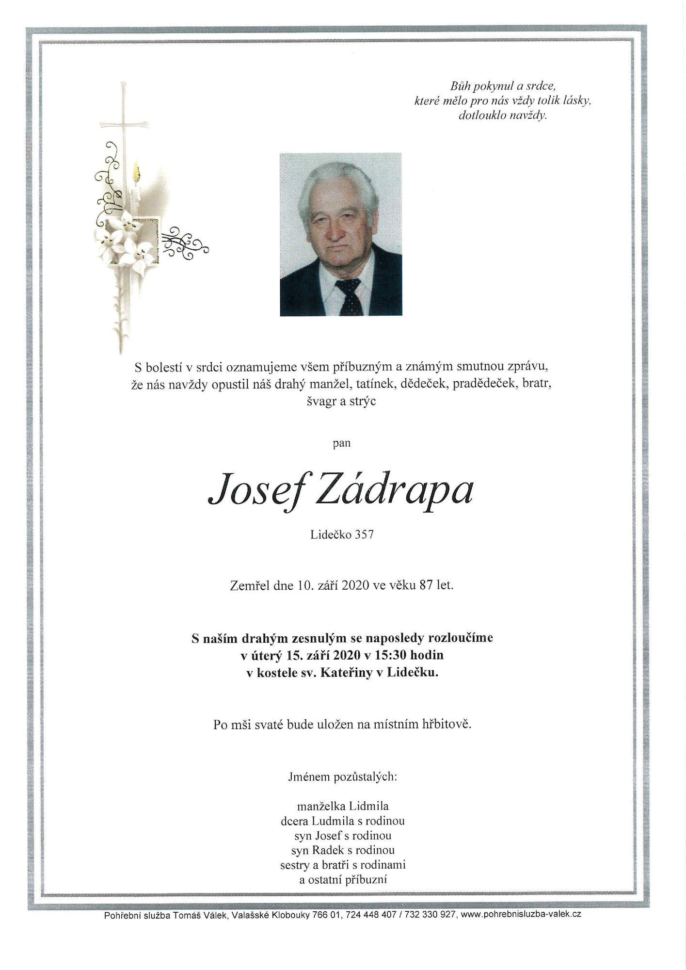 Josef Zádrapa