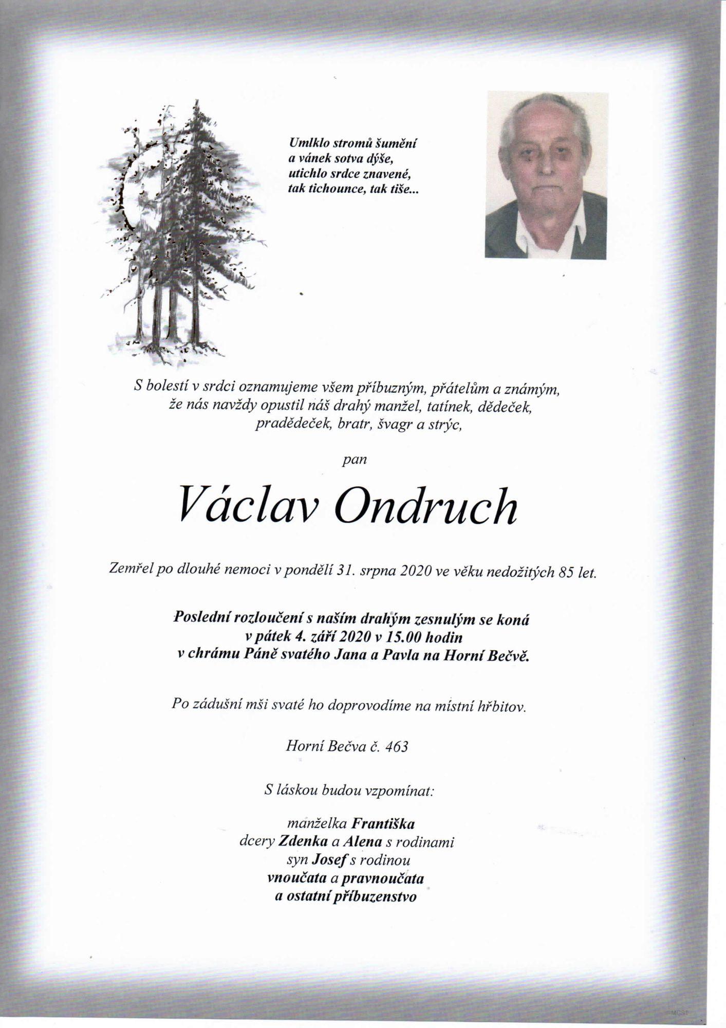 Václav Ondruch