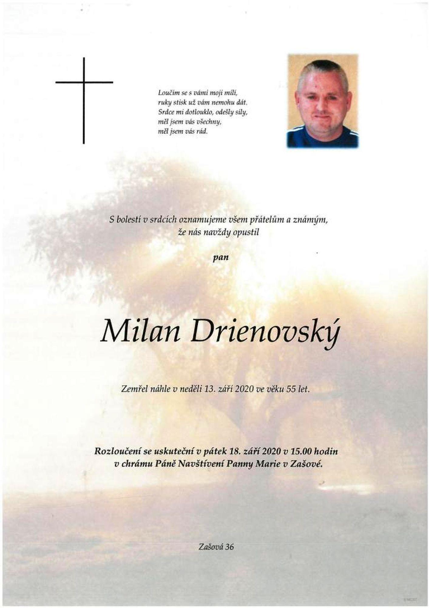 Milan Drienovský