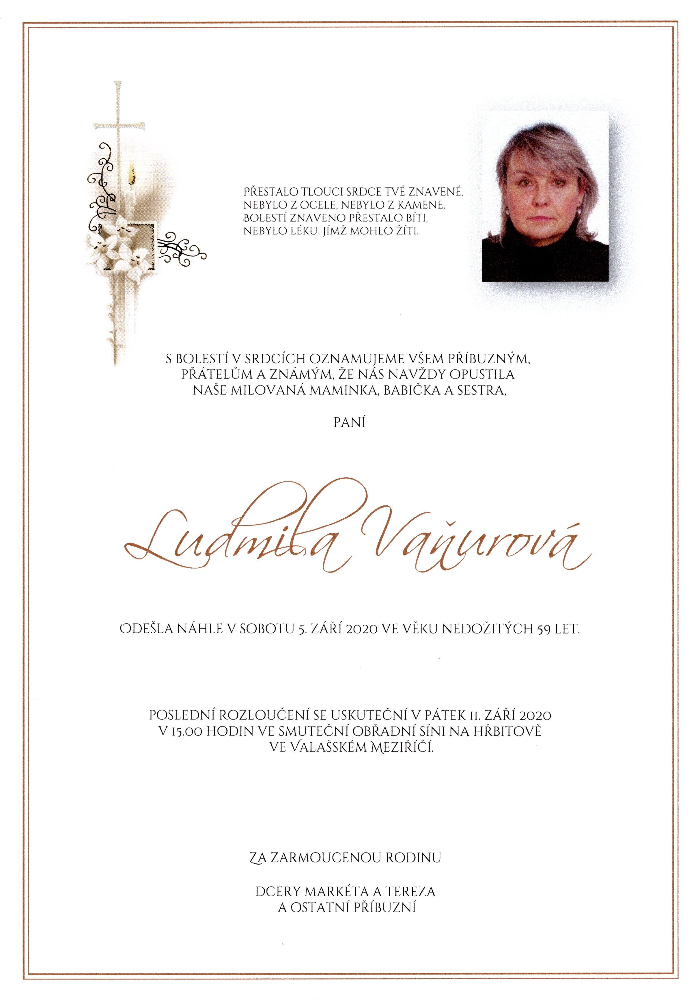 Ludmila Vaňurová