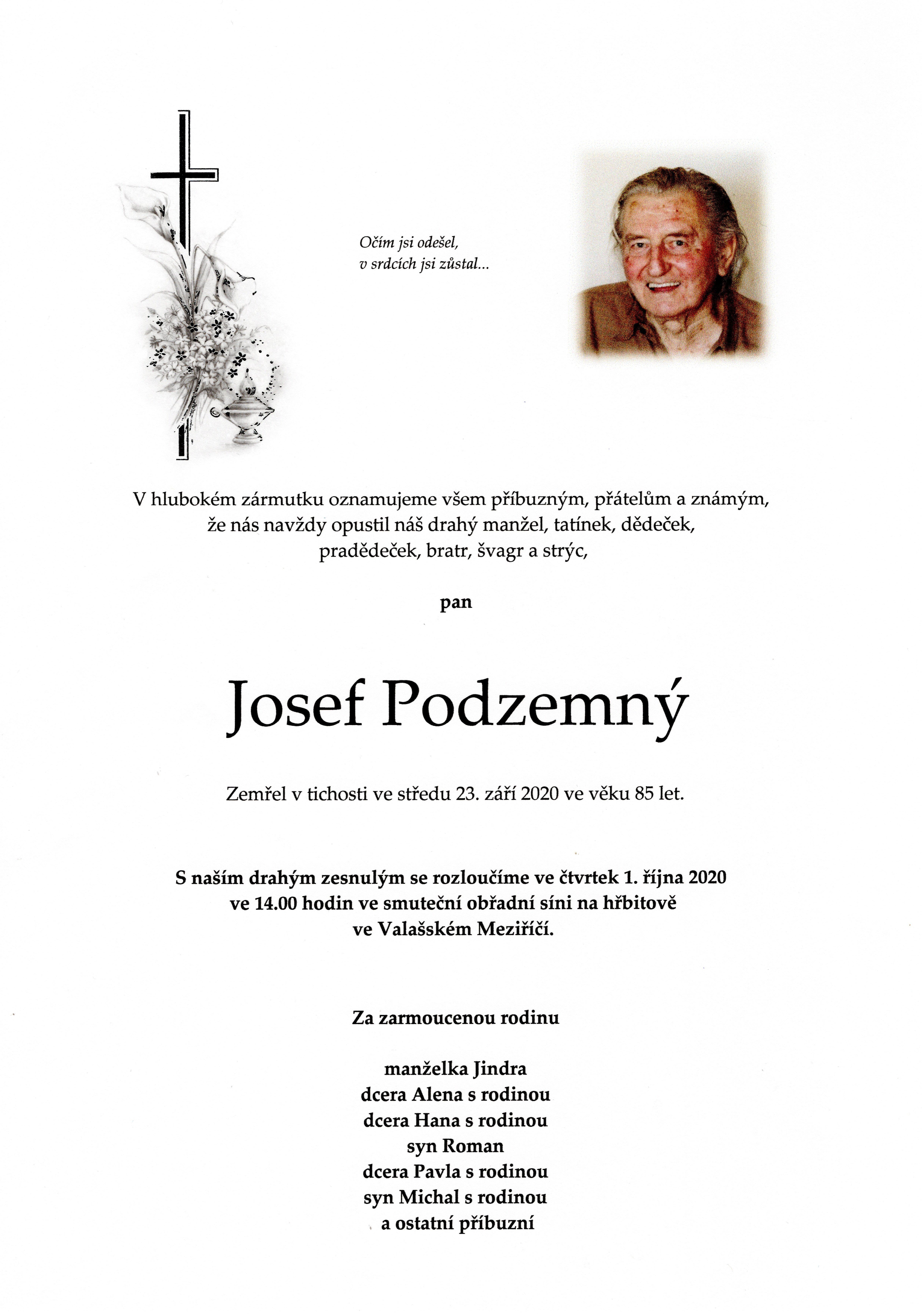 Josef Podzemný