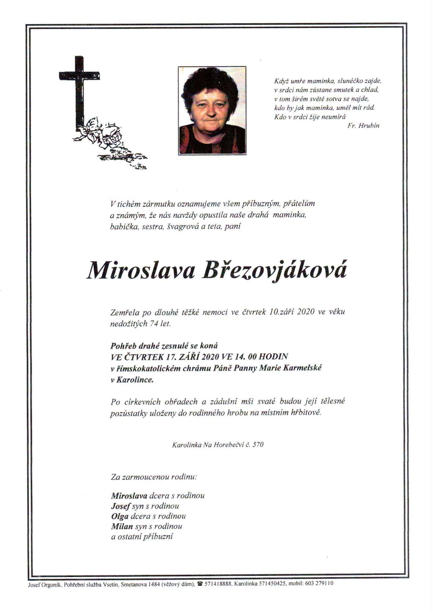 Miroslava Březovjáková