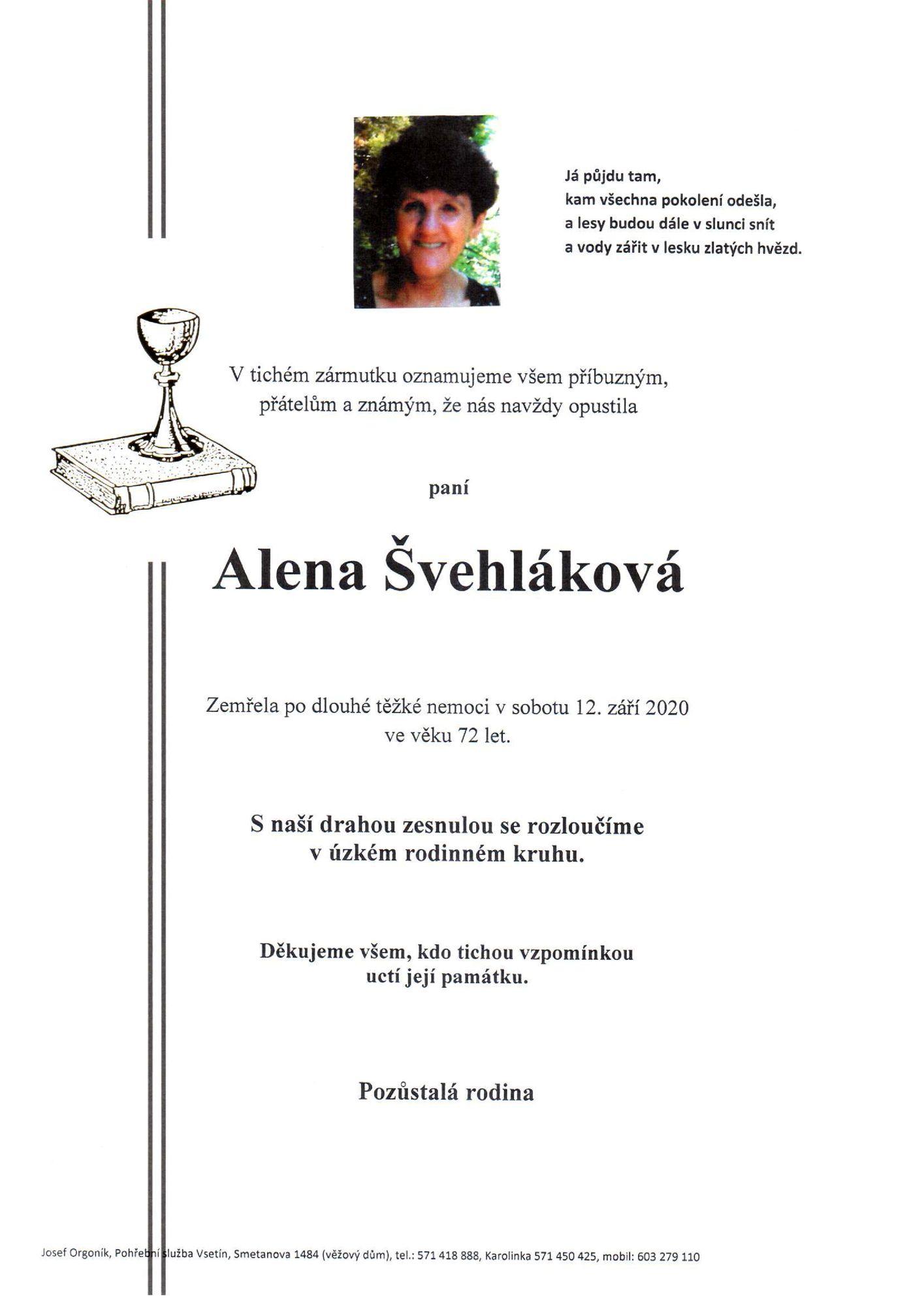 Alena Švehláková