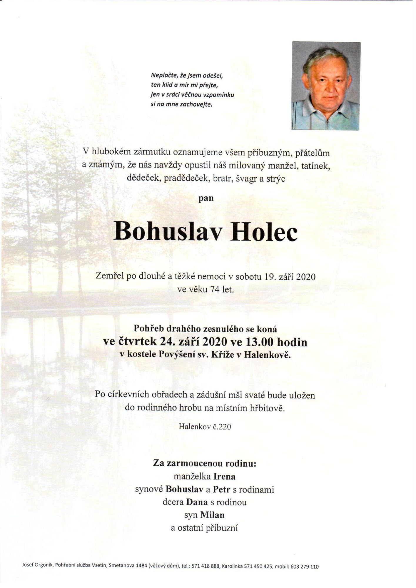 Bohuslav Holec
