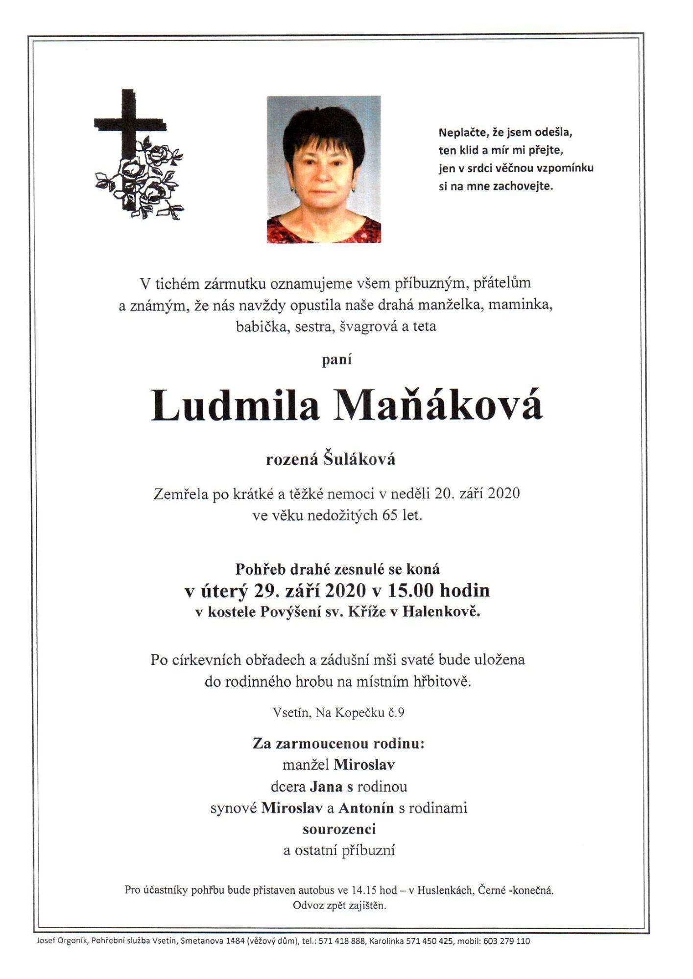 Ludmila Maňáková