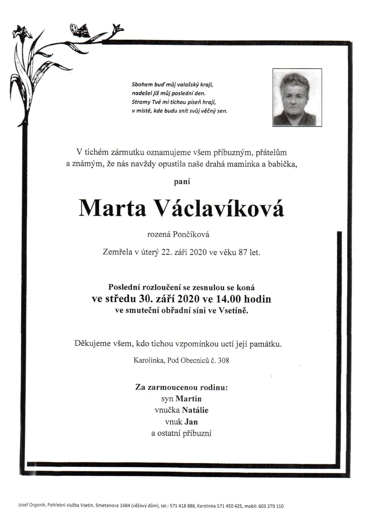 Marta Václavíková