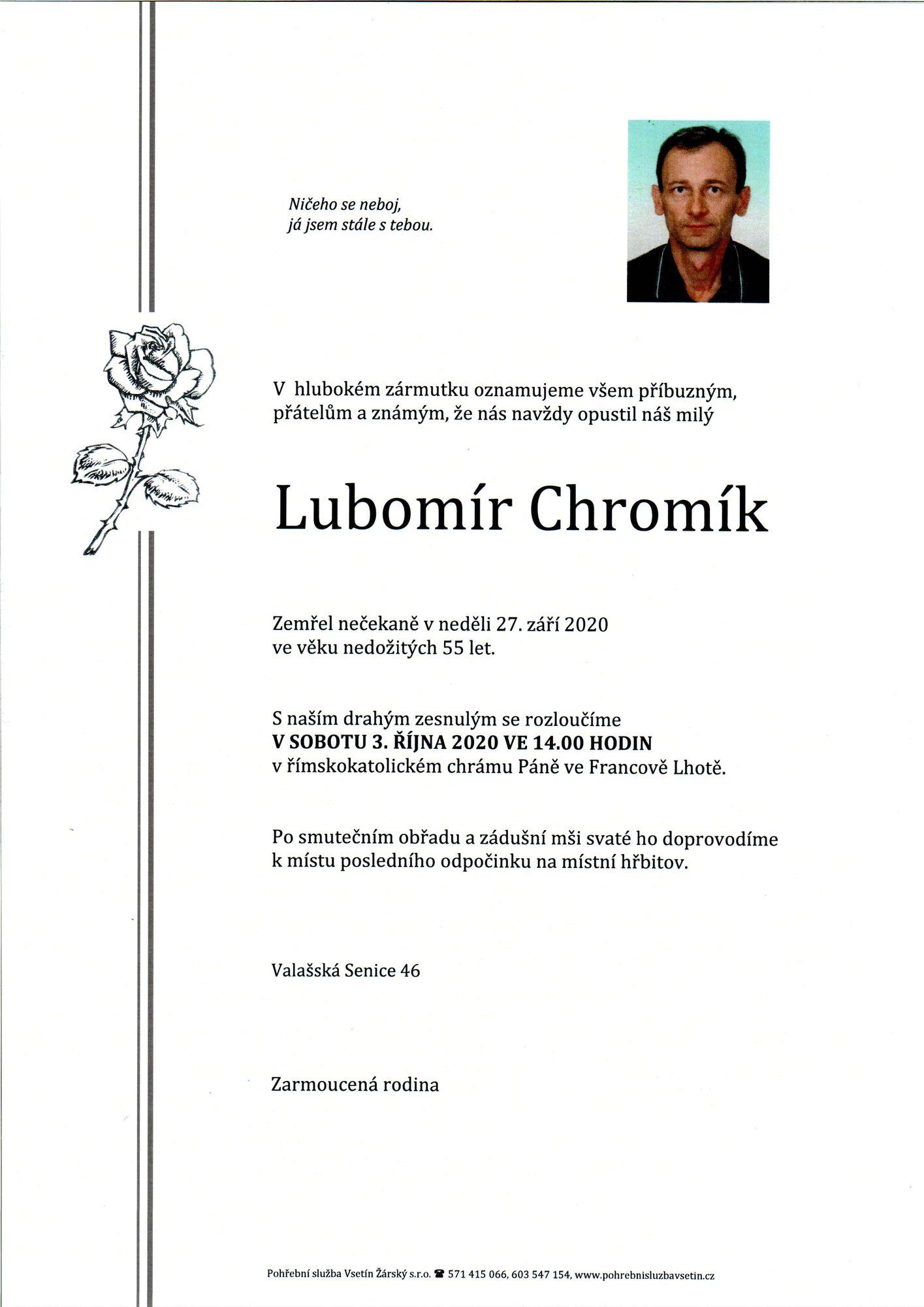 Lubomír Chromík