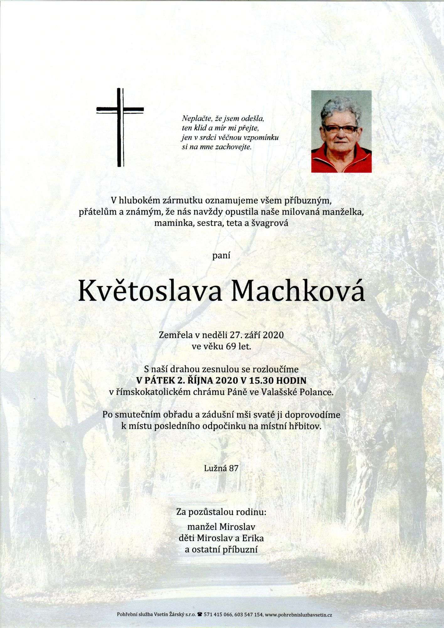 Květoslava Machková