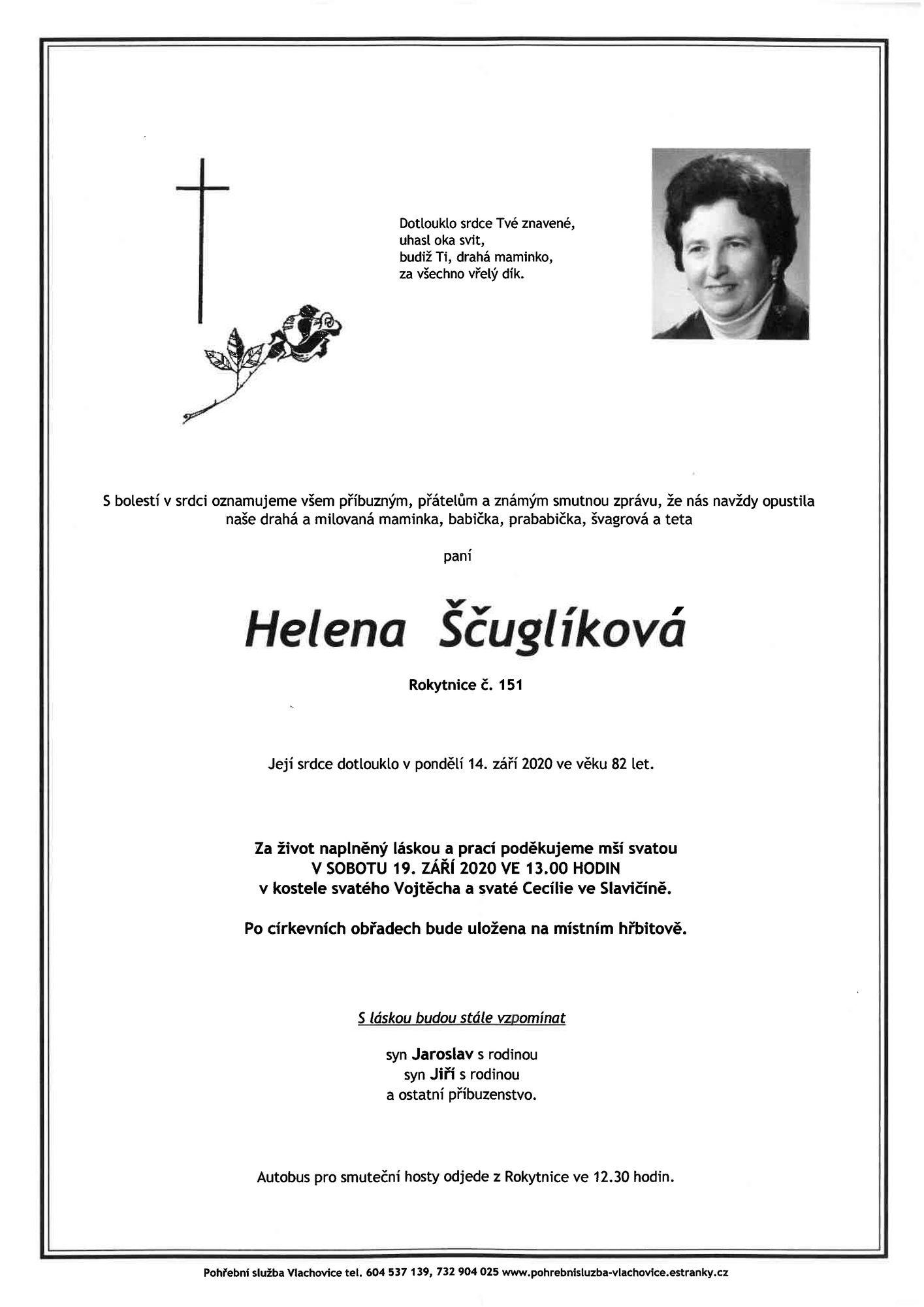 Helena Ščuglíková