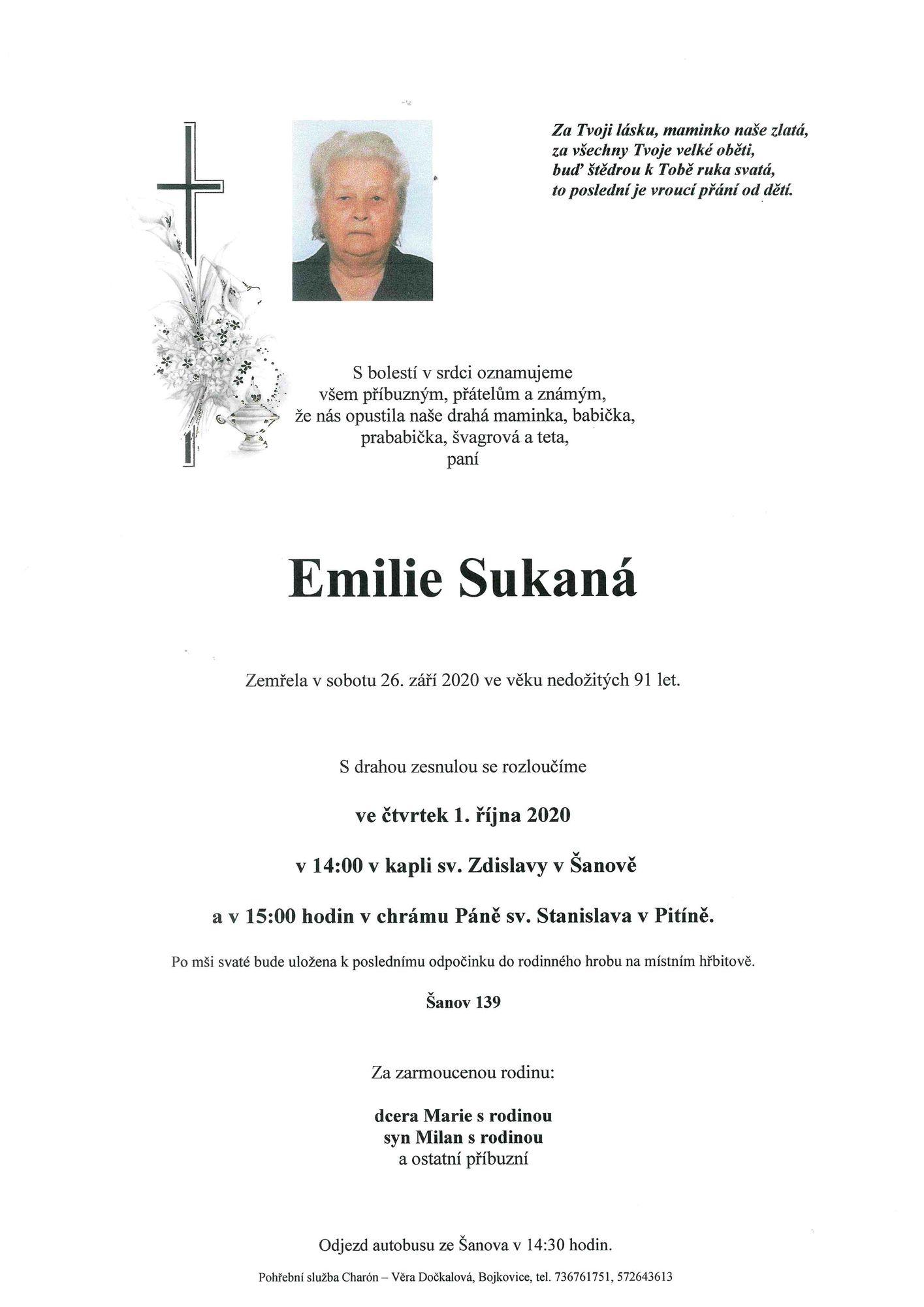 Emilie Sukaná