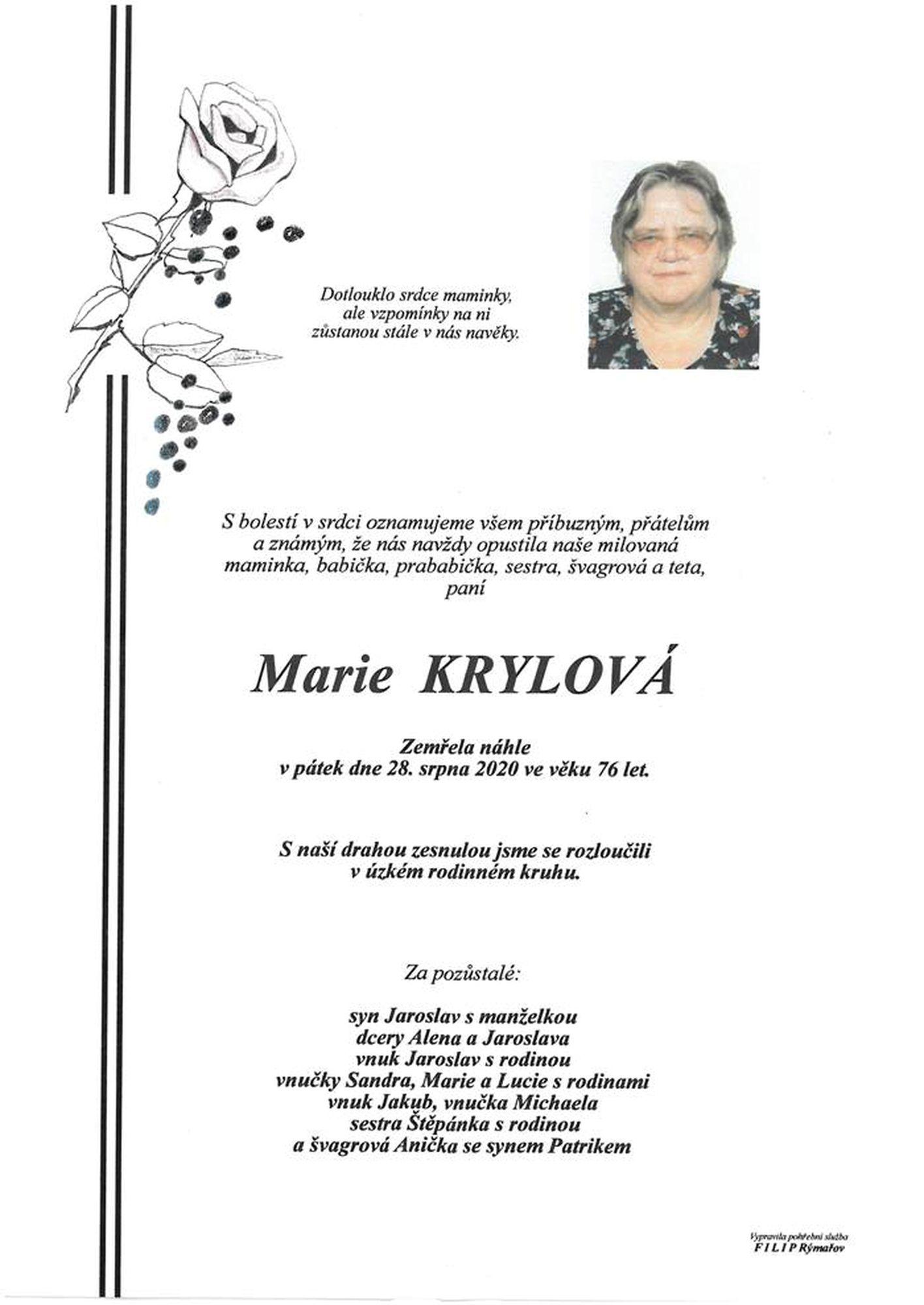 Marie Krylová
