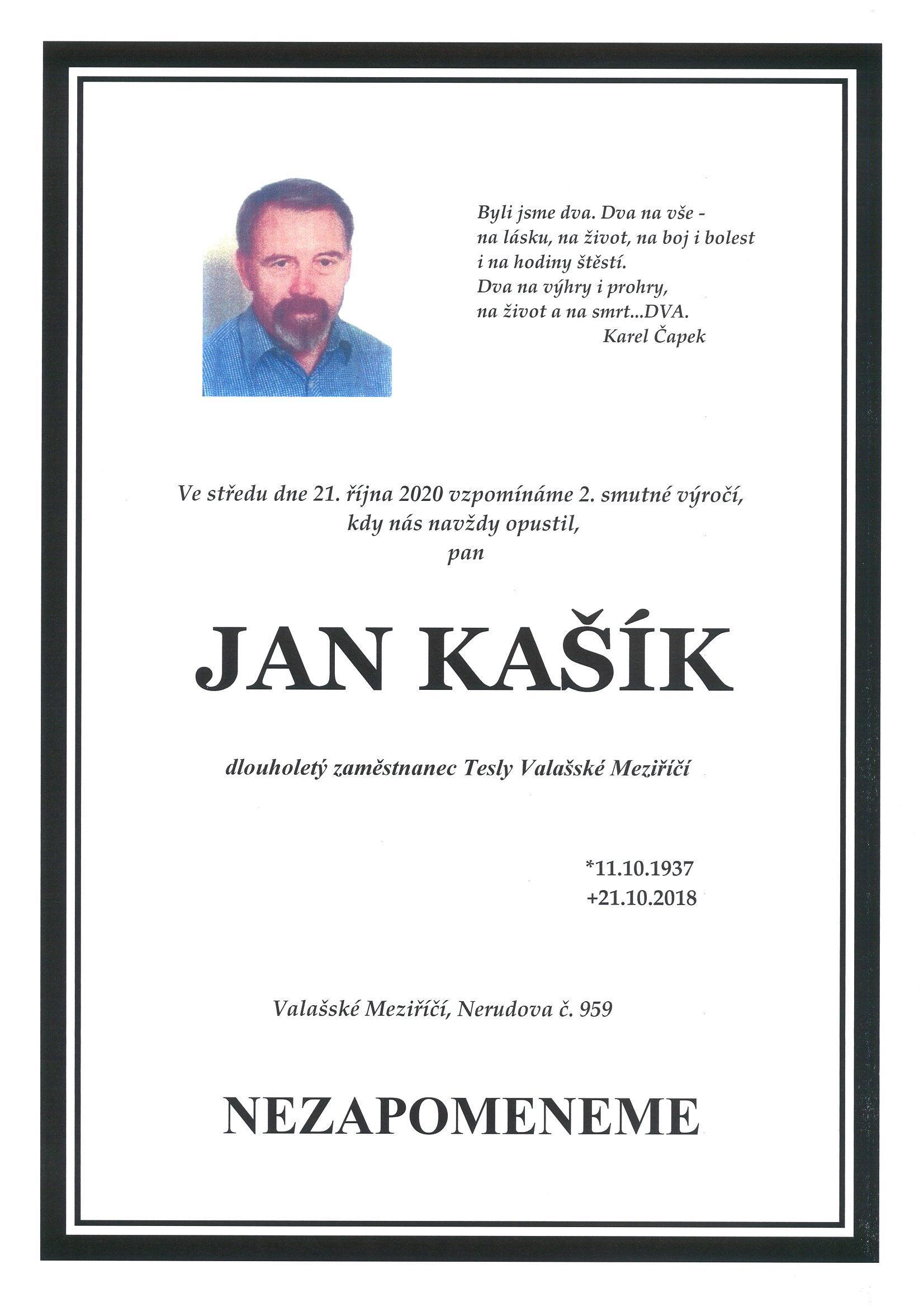 Jan Kašík