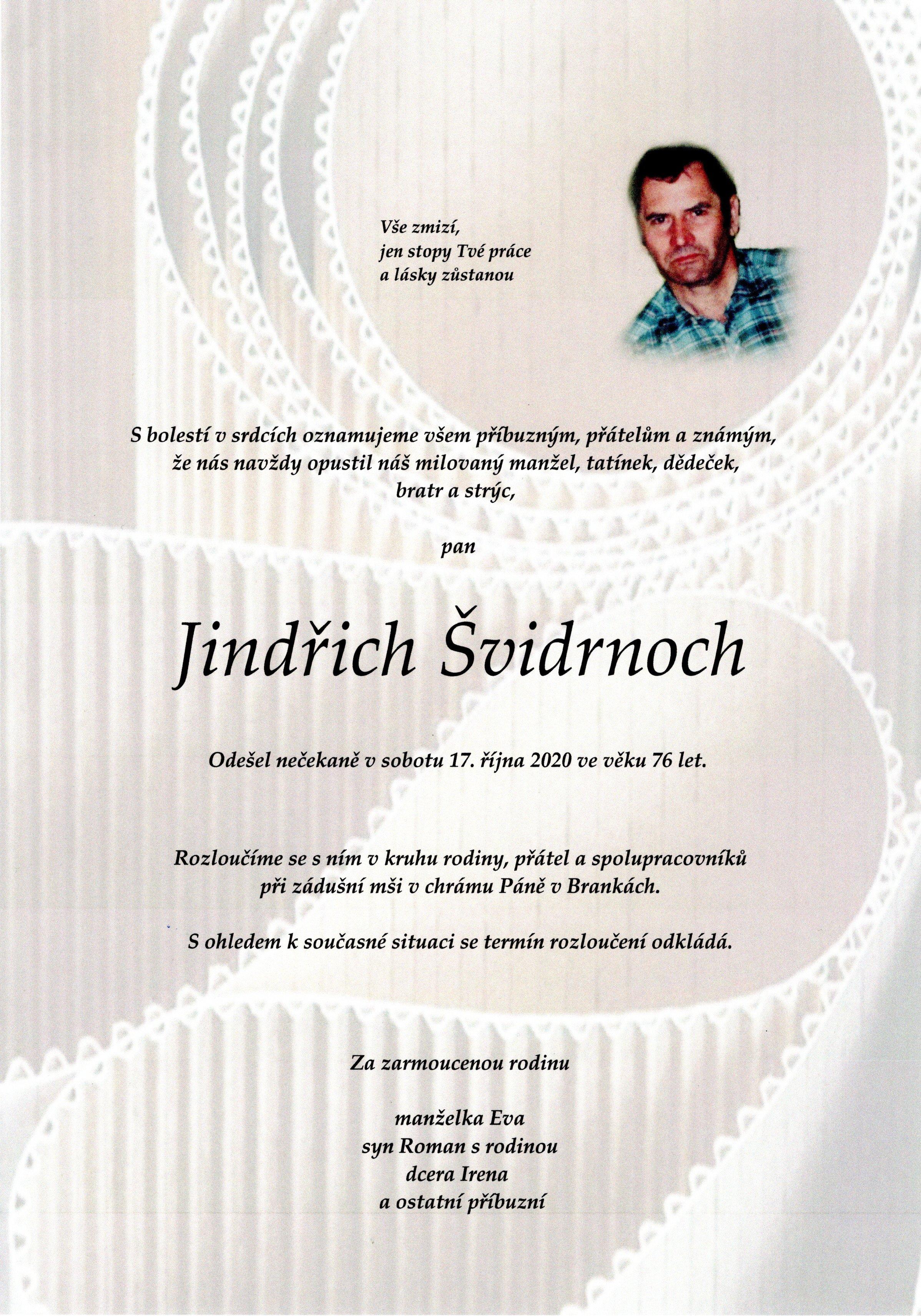Jindřich Švidrnoch