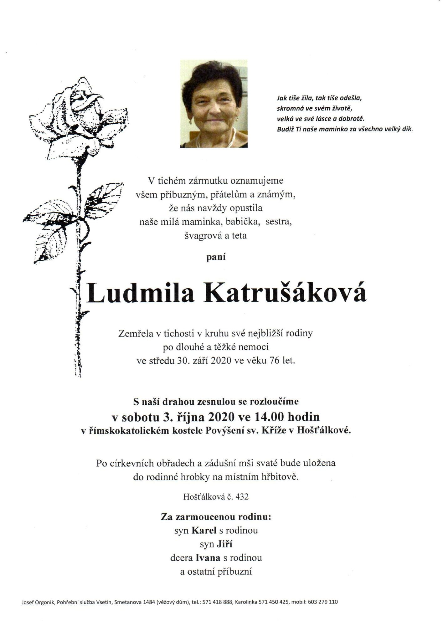 Ludmila Katrušáková