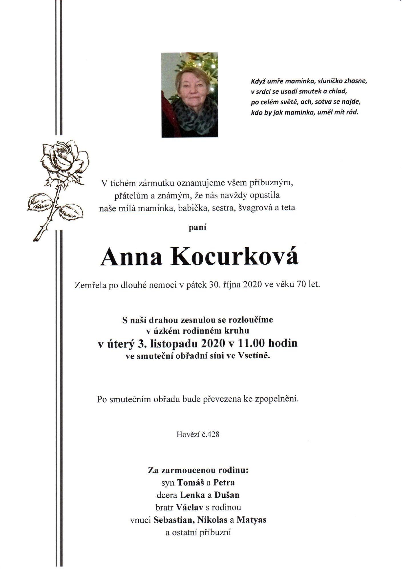 Anna Kocurková