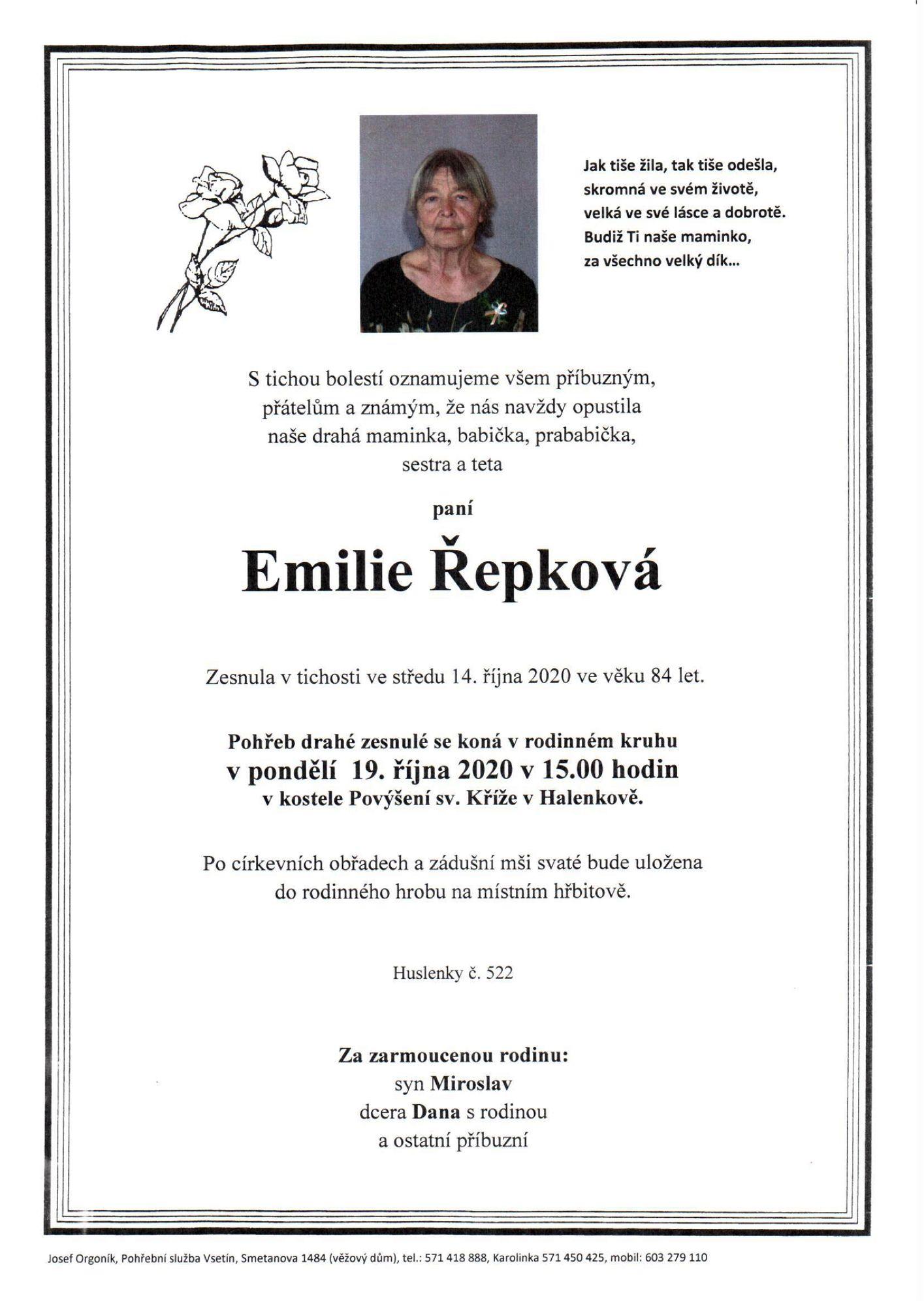 Emilie Řepková