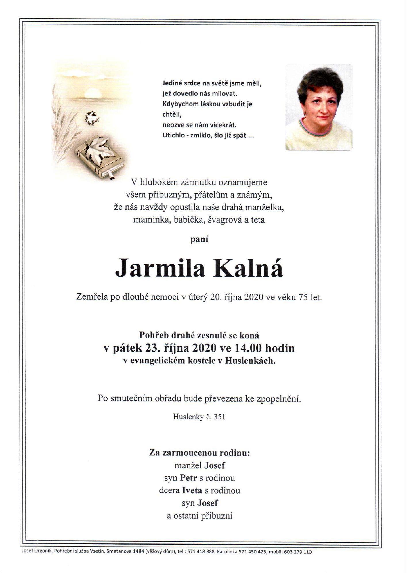 Jarmila Kalná