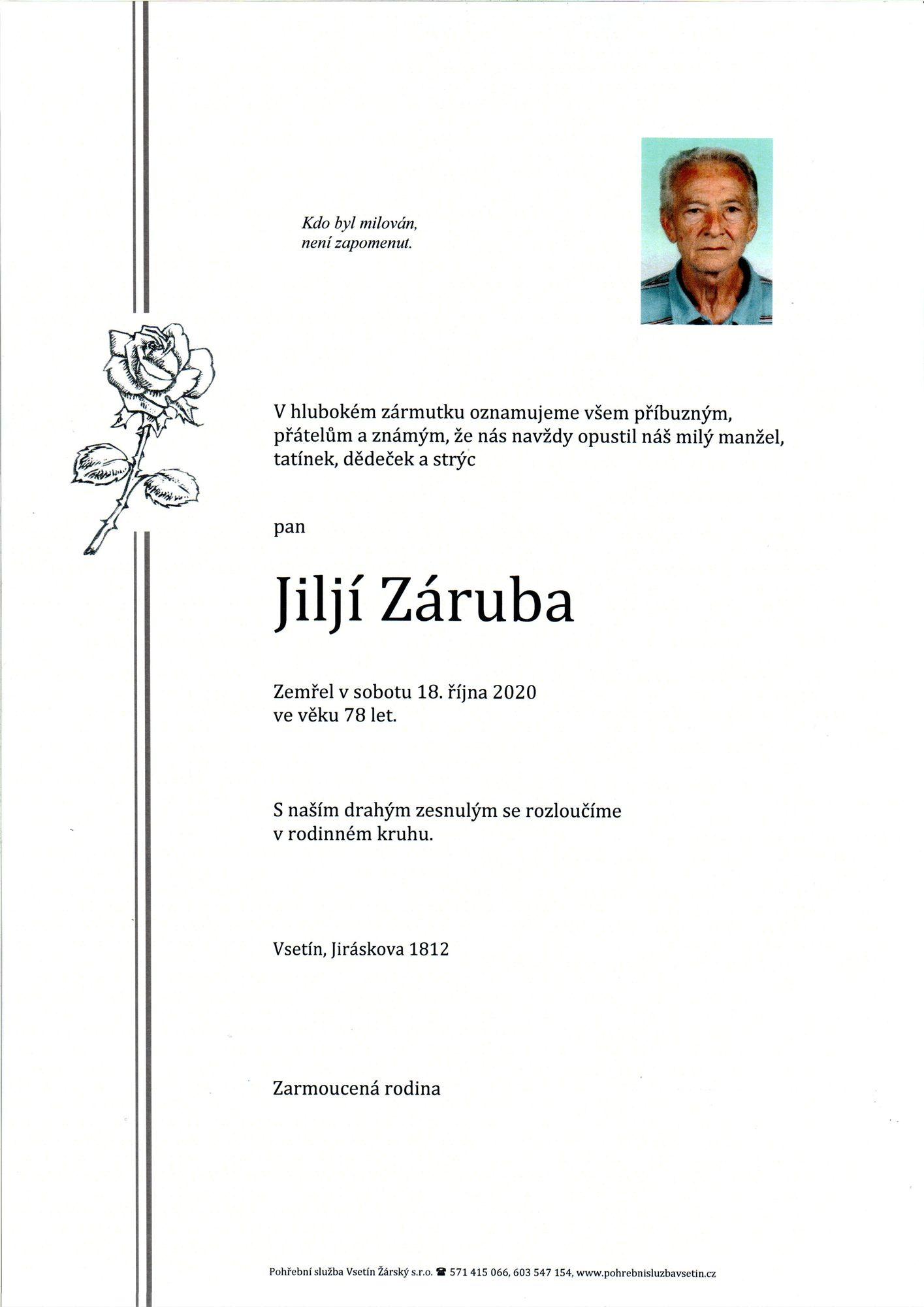 Jiljí Záruba