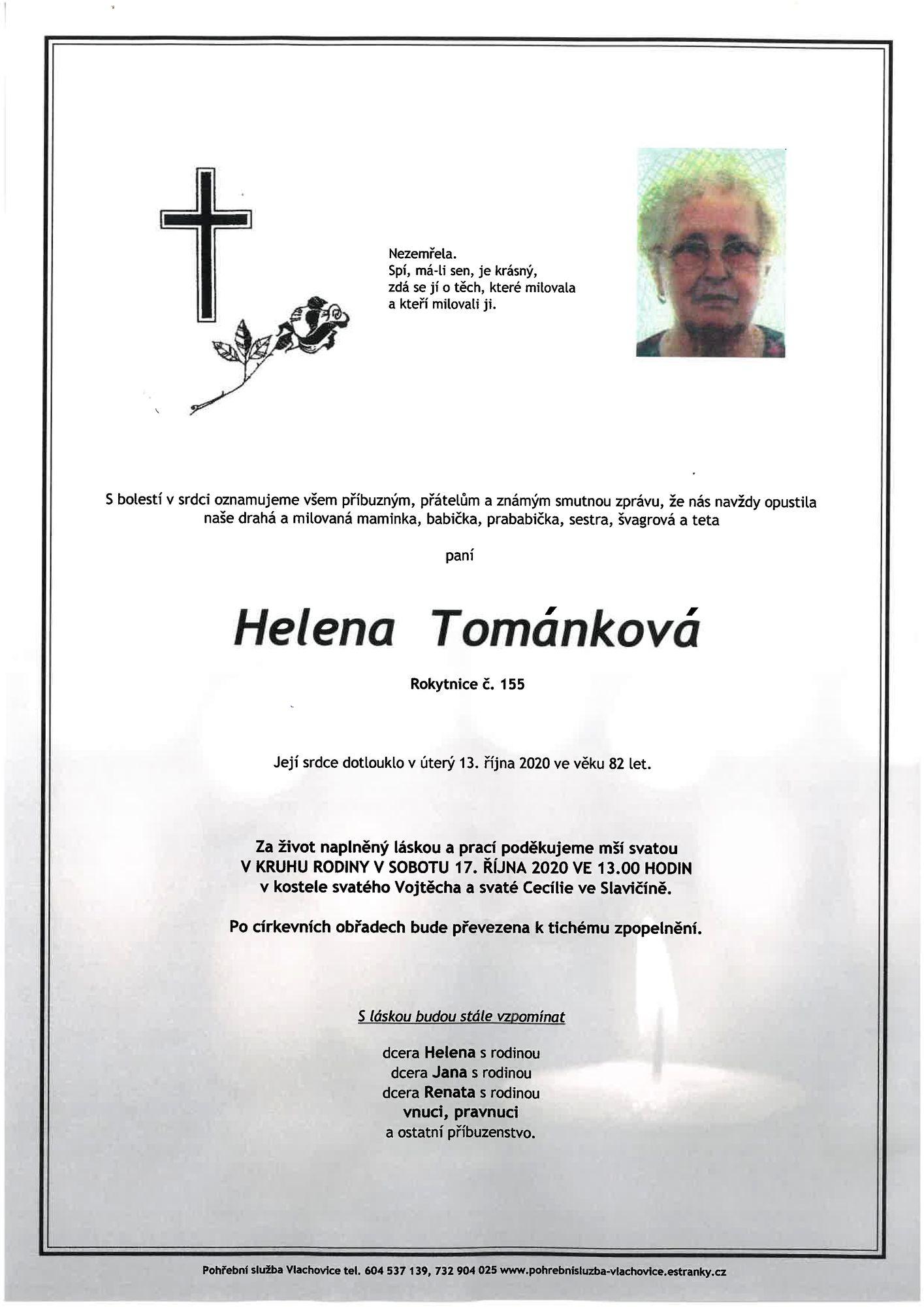 Helena Tománková