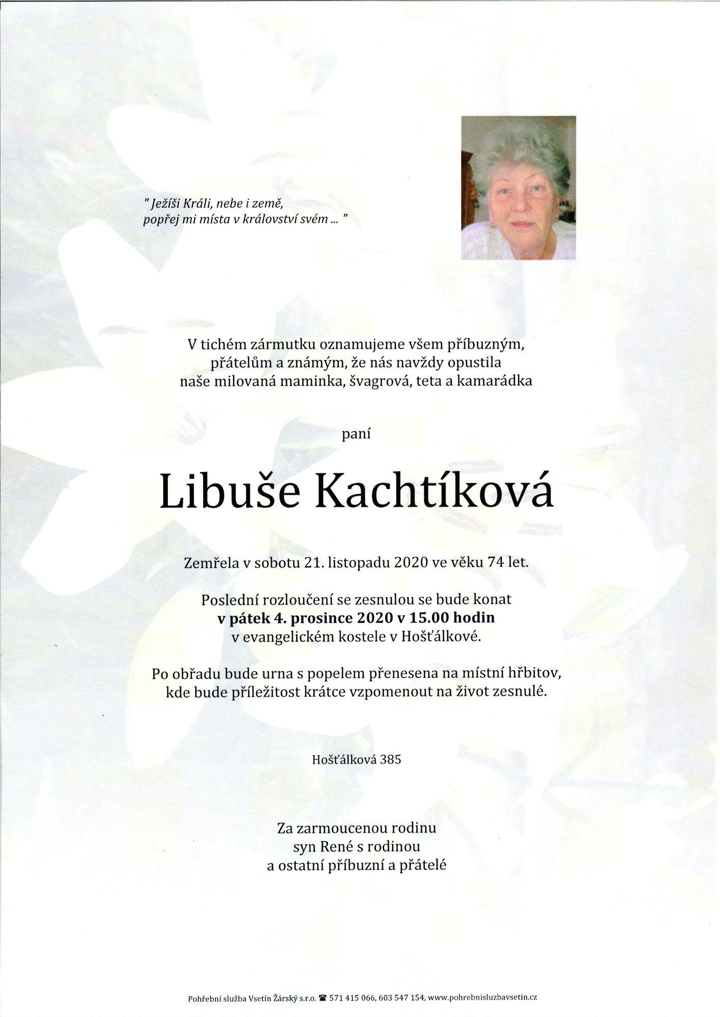 Libuše Kachtíková