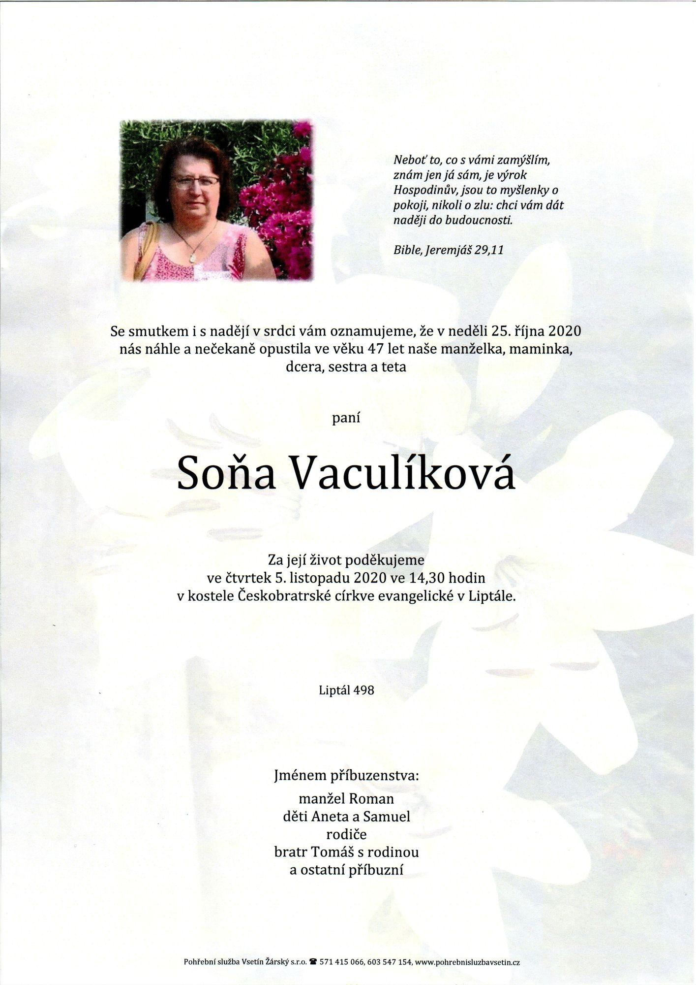 Soňa Vaculíková