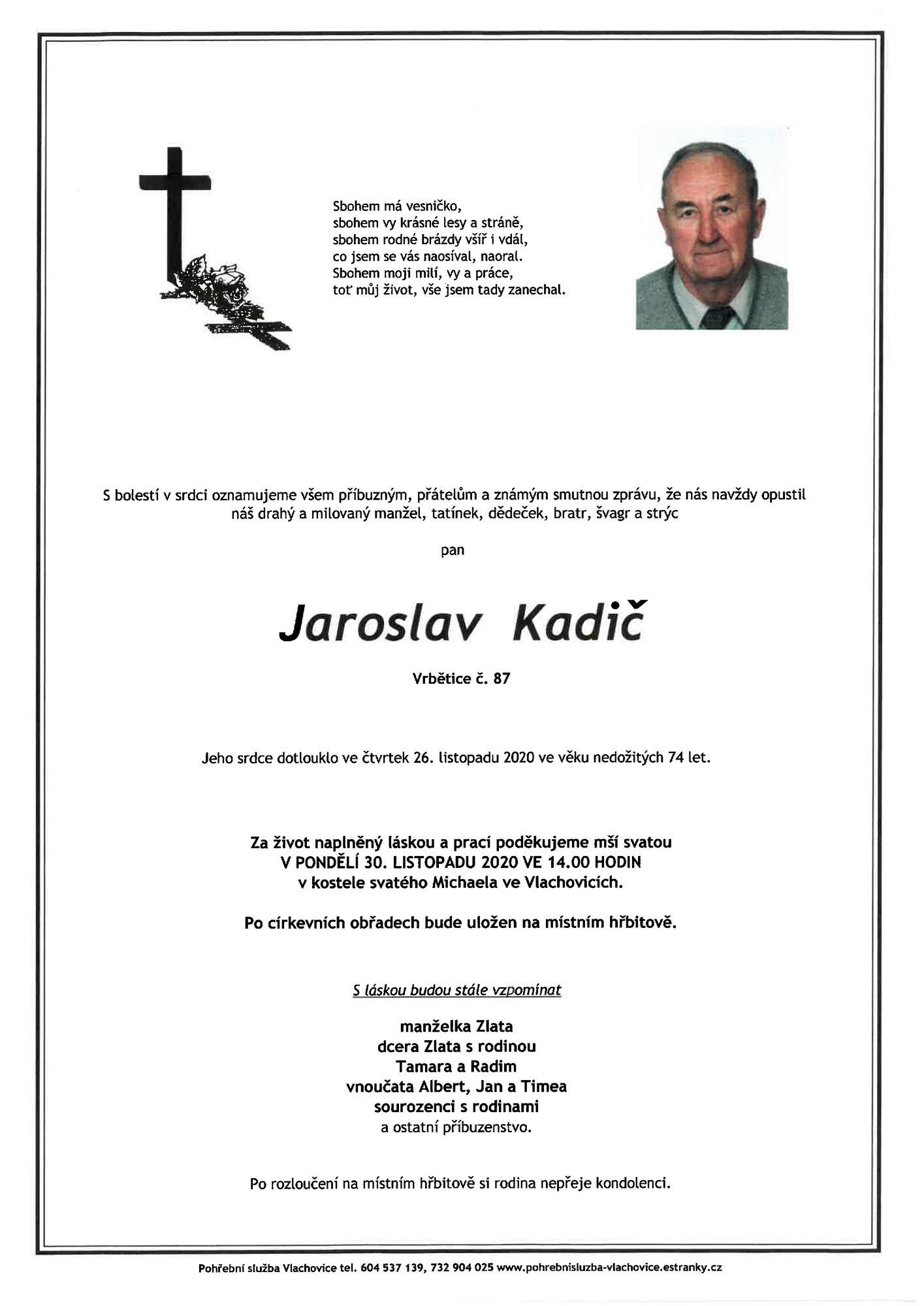 Jaroslav Kadič