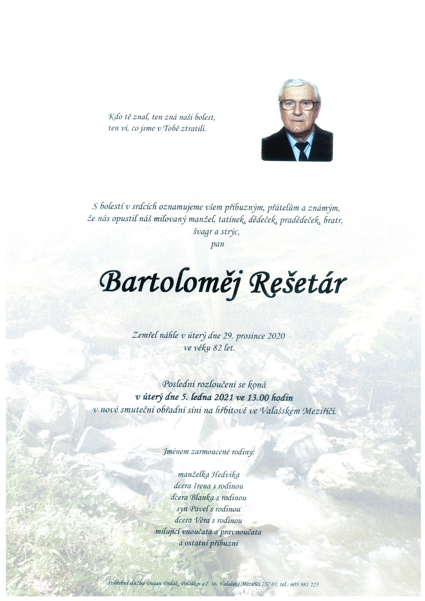 Bartoloměj Rešetár