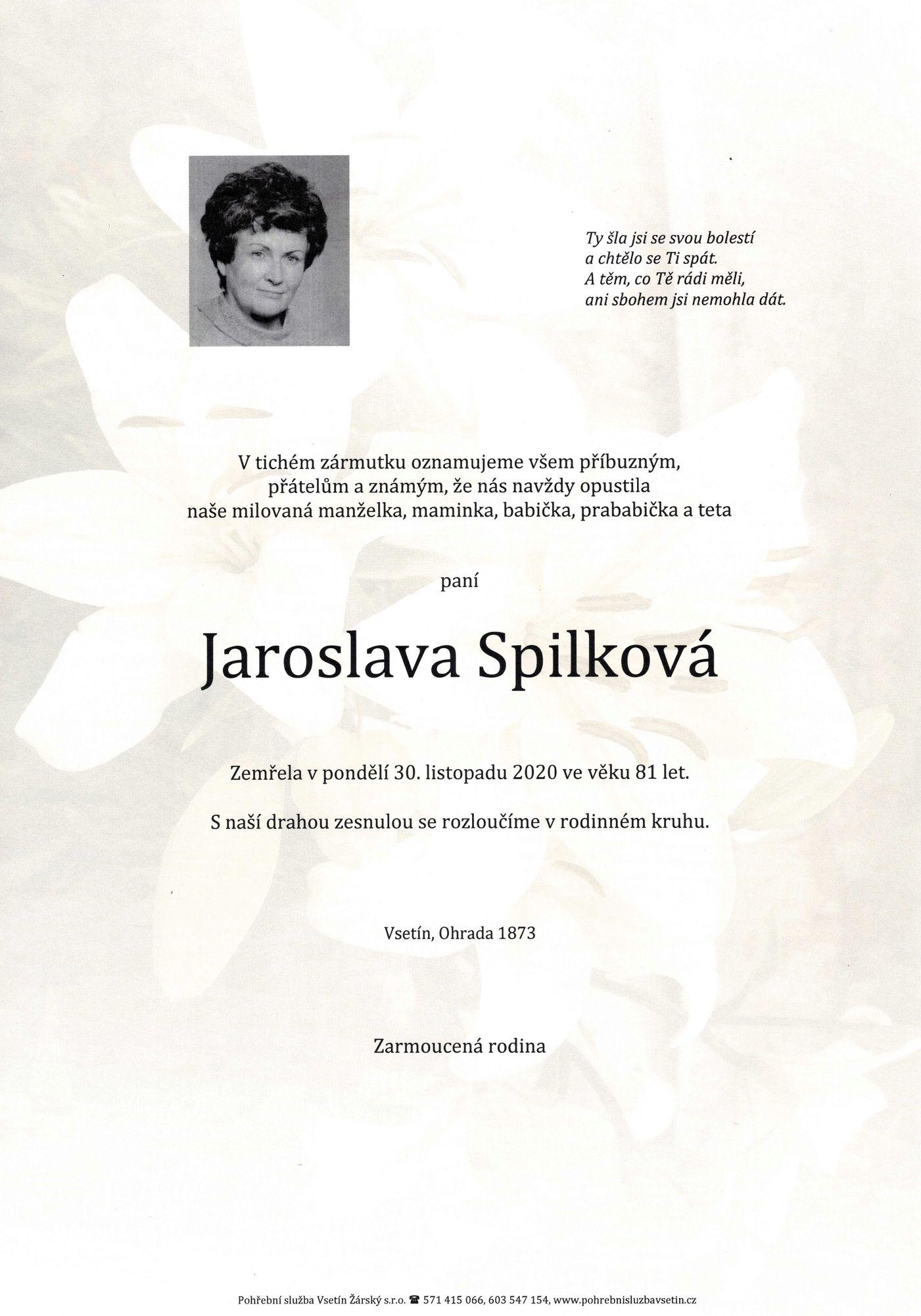 Jaroslava Spilková